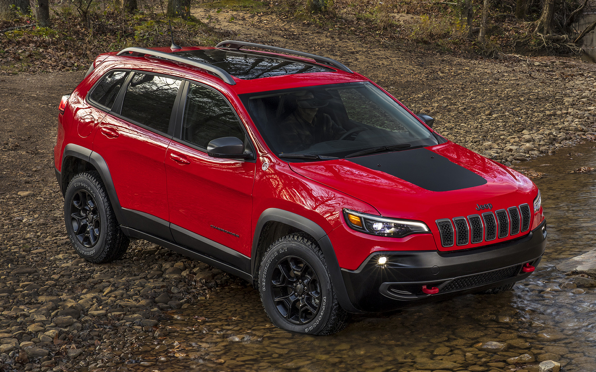 2018 Jeep Cherokee Trailhawk Wallpapers And Hd Images Car Pixel