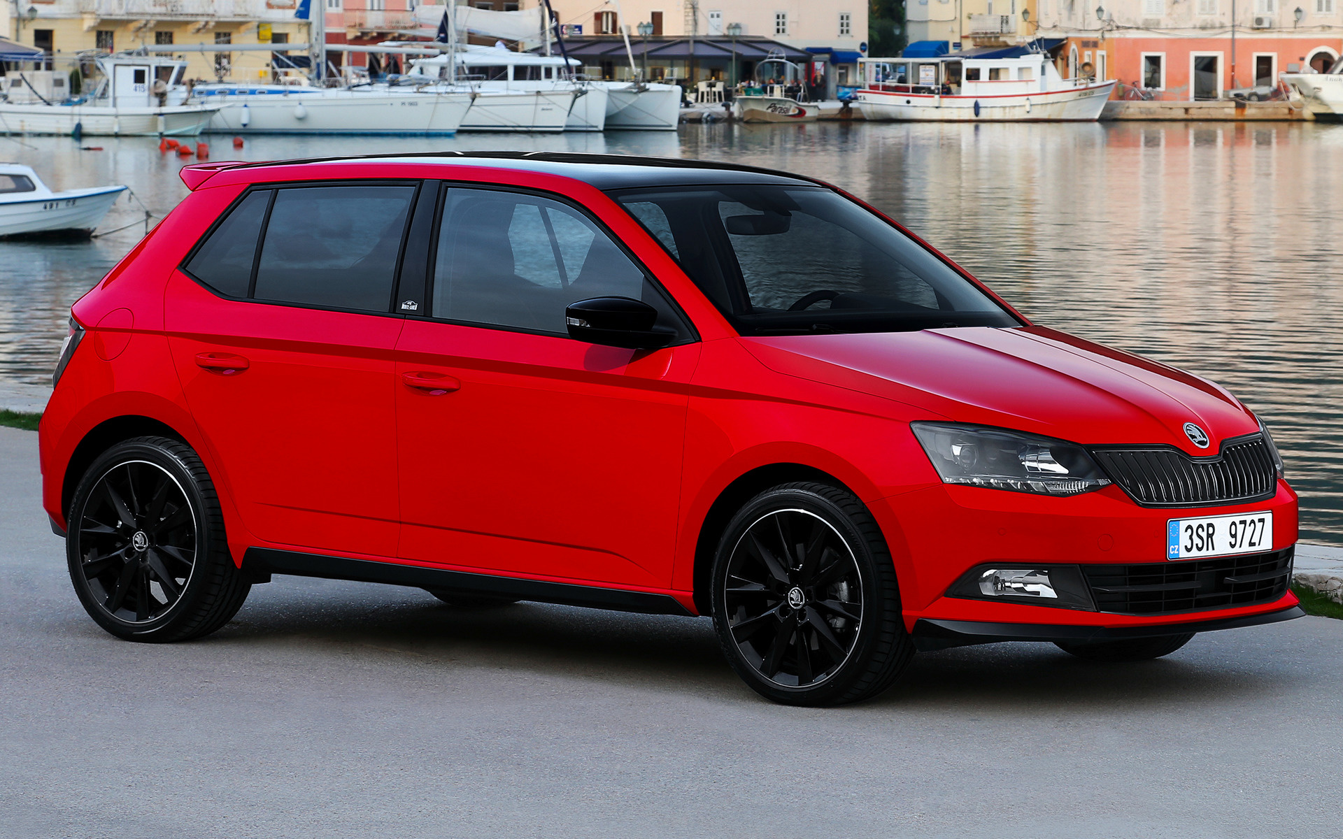 skoda fabia monte carlo 2015 wallpapers and hd images car pixel. Black Bedroom Furniture Sets. Home Design Ideas