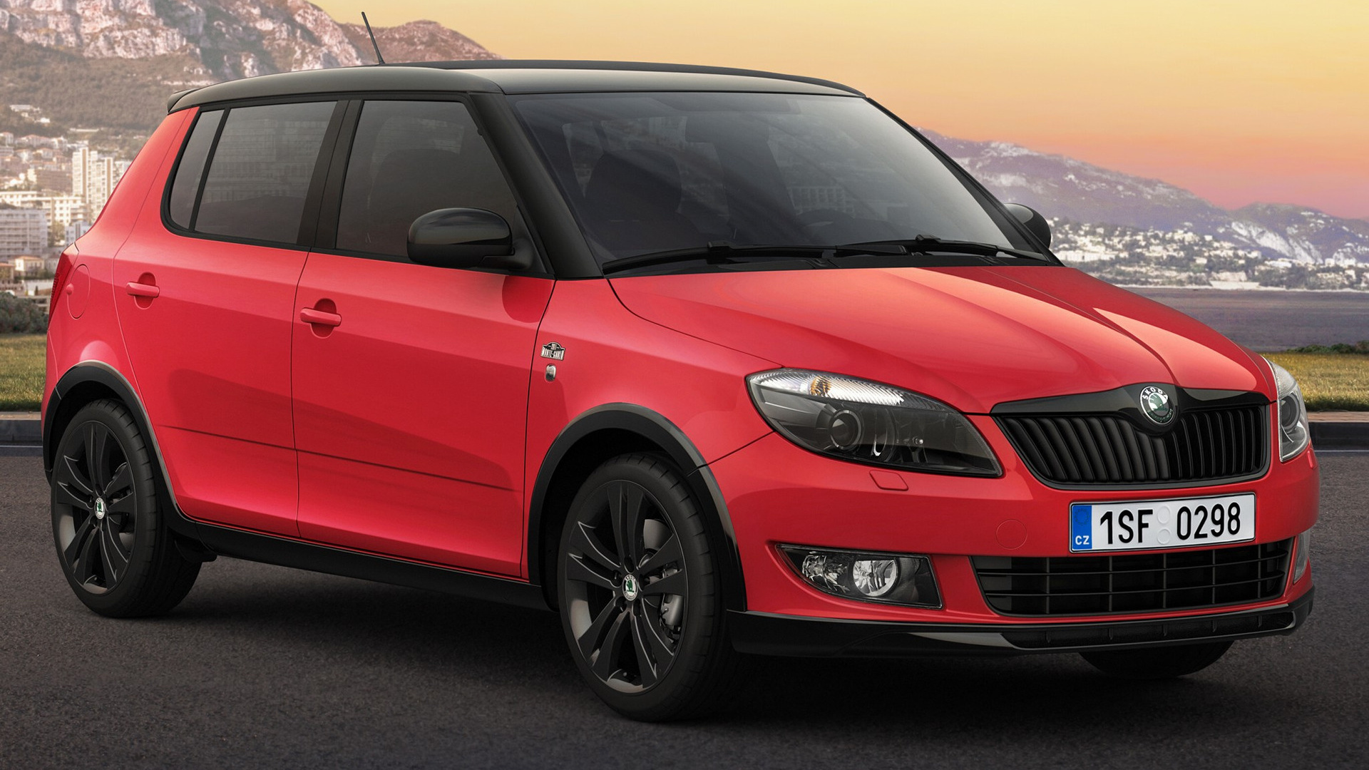 skoda fabia monte carlo 2011 wallpapers and hd images. Black Bedroom Furniture Sets. Home Design Ideas