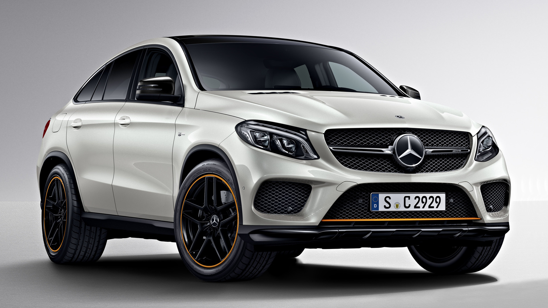 mercedes amg gle 43 coupe orangeart edition 2017 wallpapers and hd images car pixel. Black Bedroom Furniture Sets. Home Design Ideas