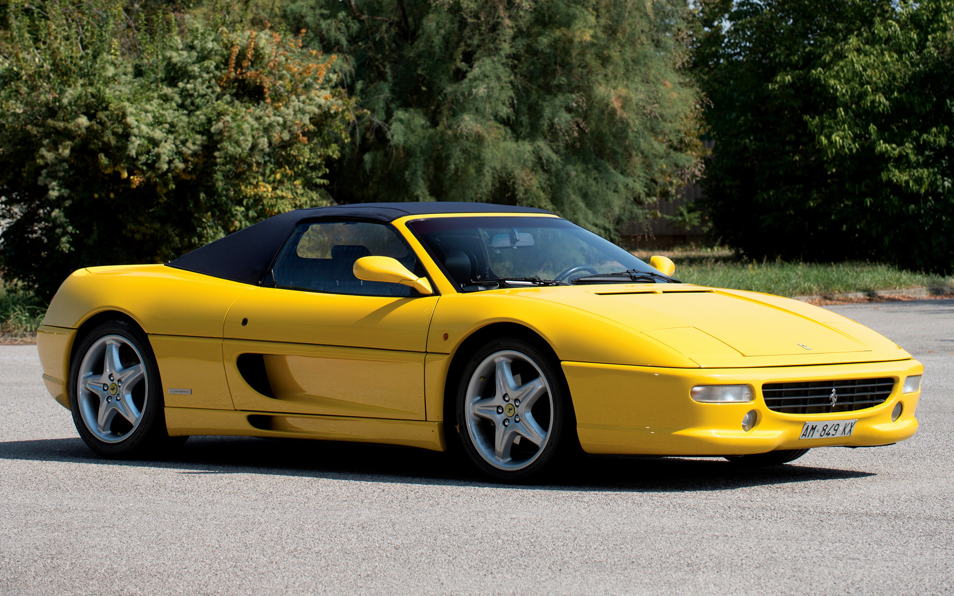 ferrari f355 spider wallpaper - photo #18