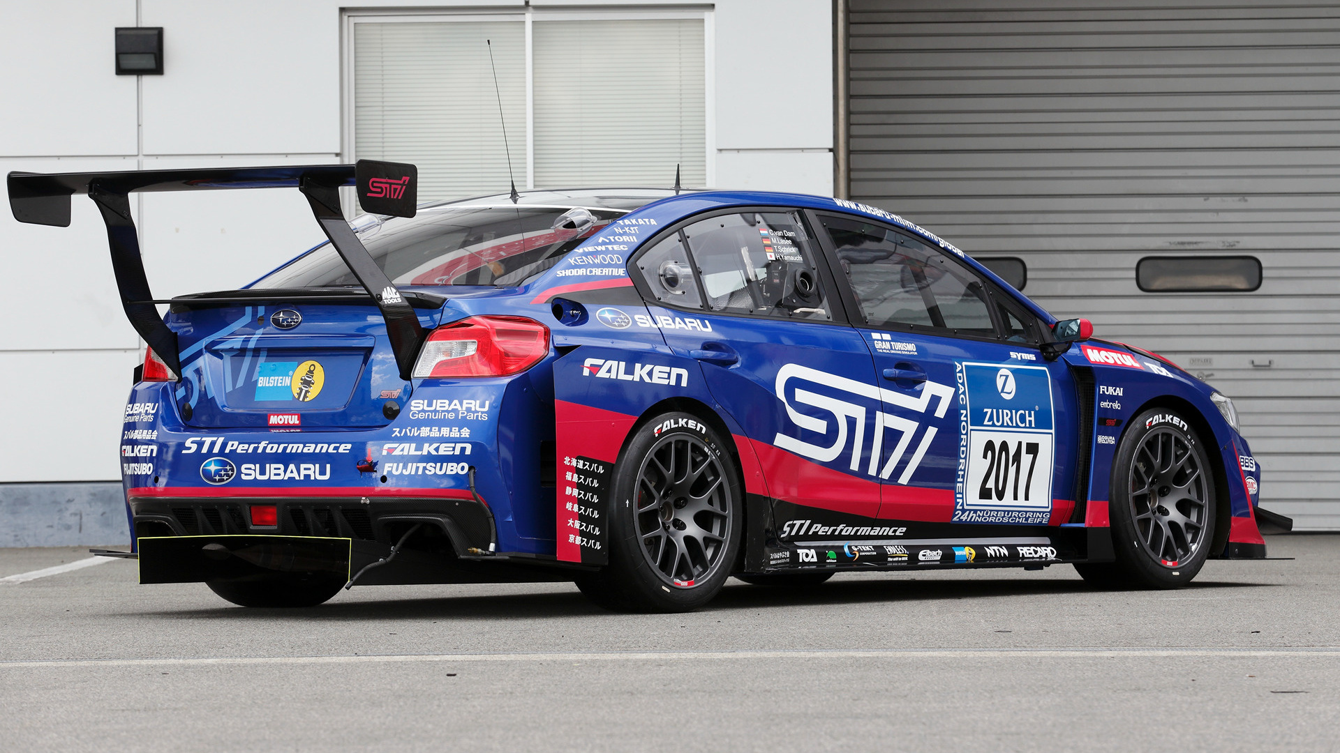Subaru Wrx Sti Race Car 2017 Wallpapers And Hd Images Car Pixel