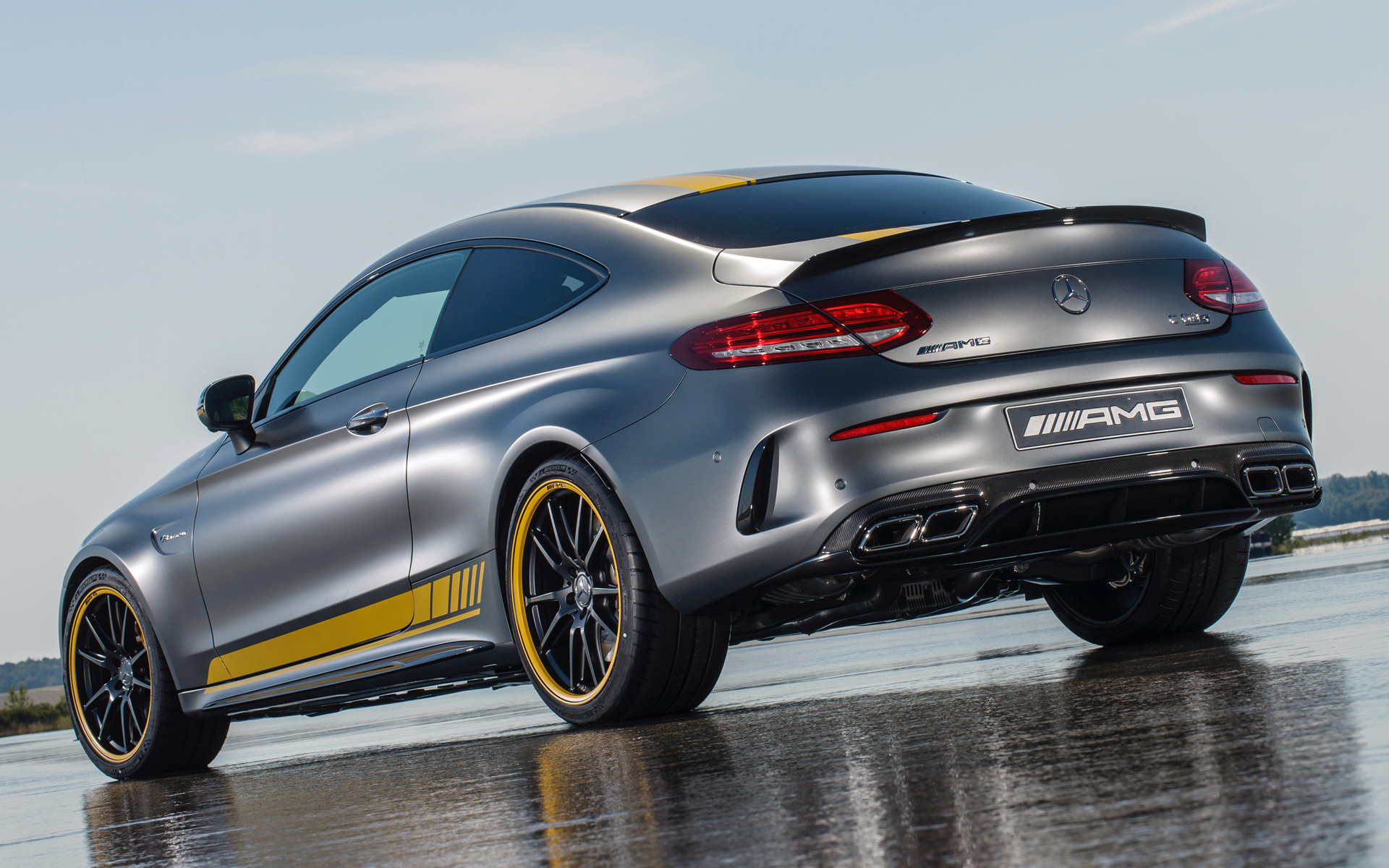 ... AMG C 63 S Coupe Edition 1 (2016) Wallpapers and HD Images - Car Pixel