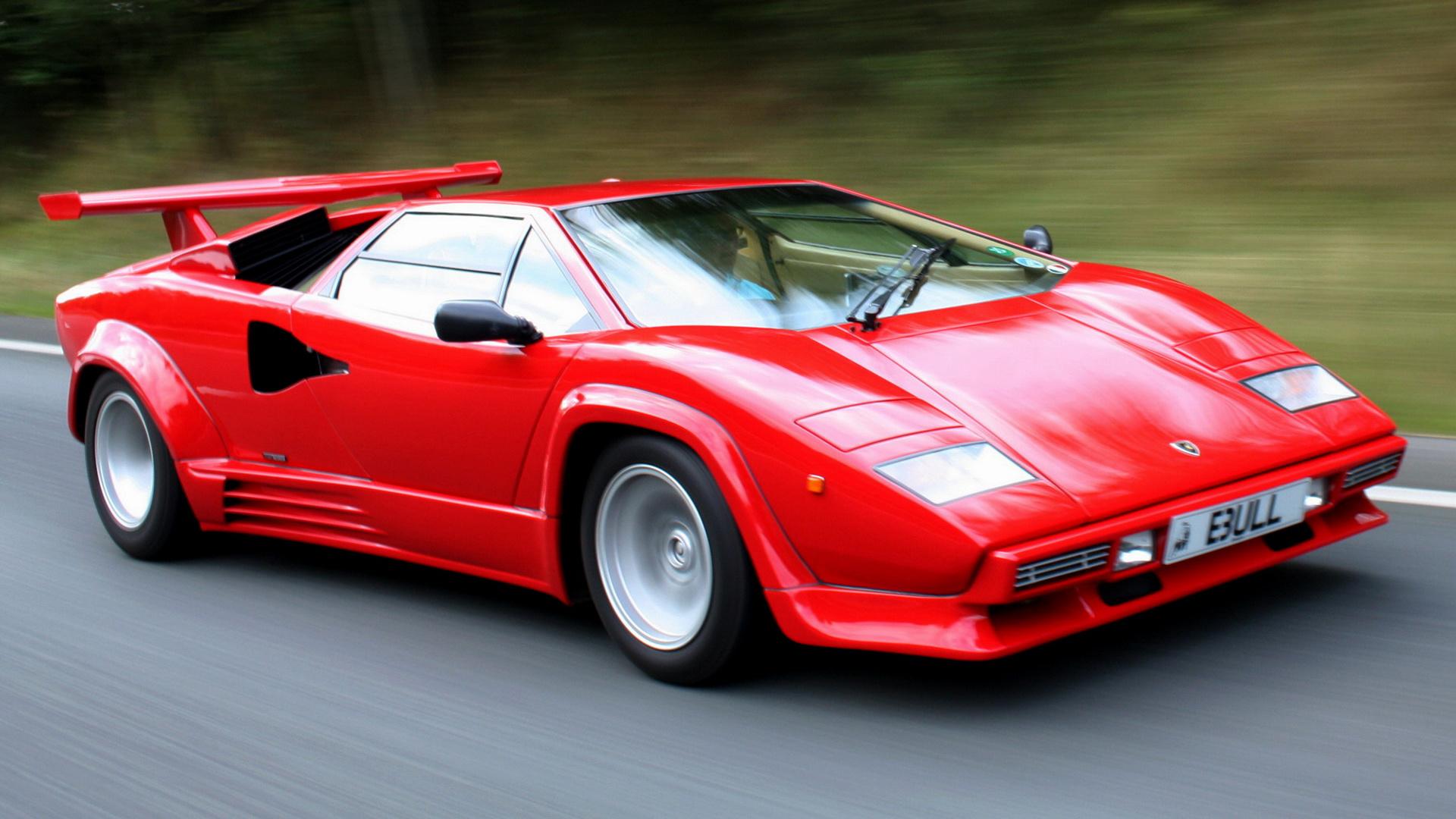1987 Lamborghini Countach 5000 Quattrovalvole (UK ...