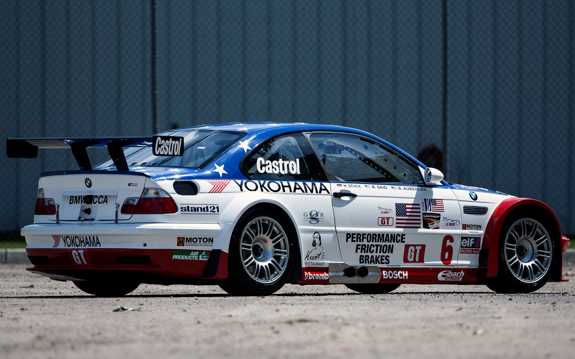 BMW M3 GTR ALMS (2001) Wallpapers and HD Images - Car Pixel