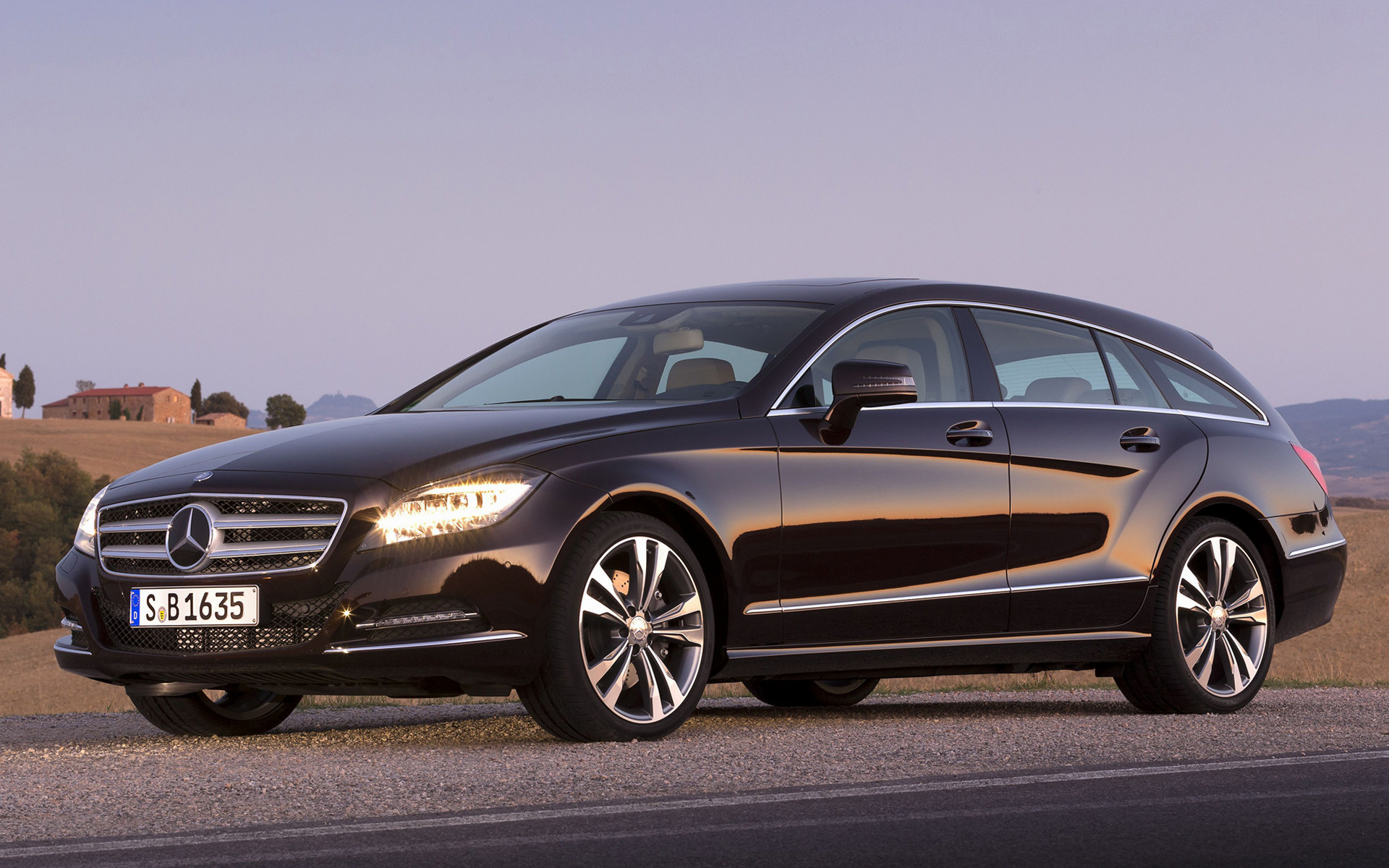 mercedes benz cls class shooting brake 2012 wallpapers and hd images car pixel. Black Bedroom Furniture Sets. Home Design Ideas