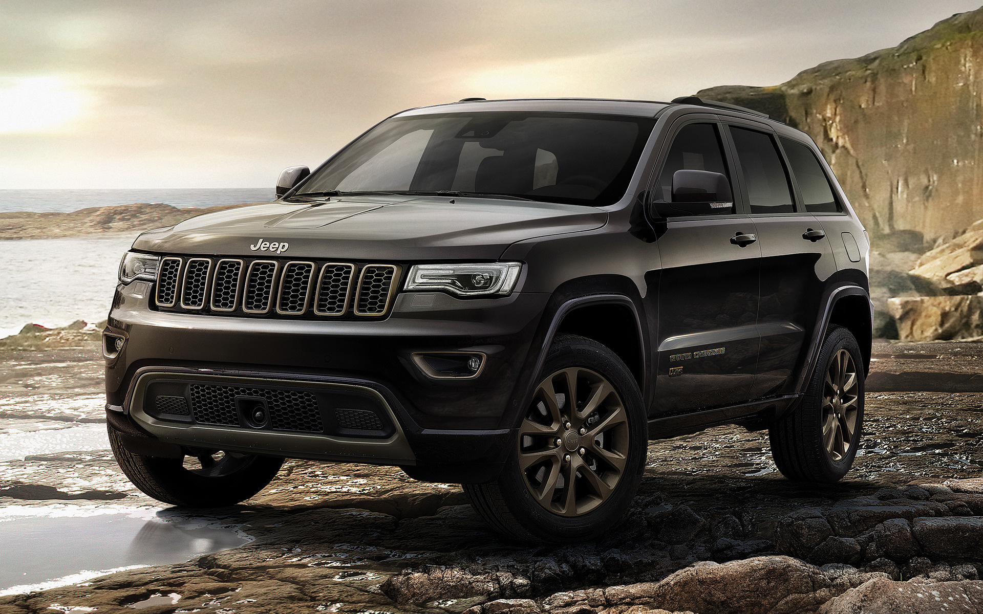 jeep grand cherokee 75th anniversary 2016 eu wallpapers and hd images car pixel. Black Bedroom Furniture Sets. Home Design Ideas