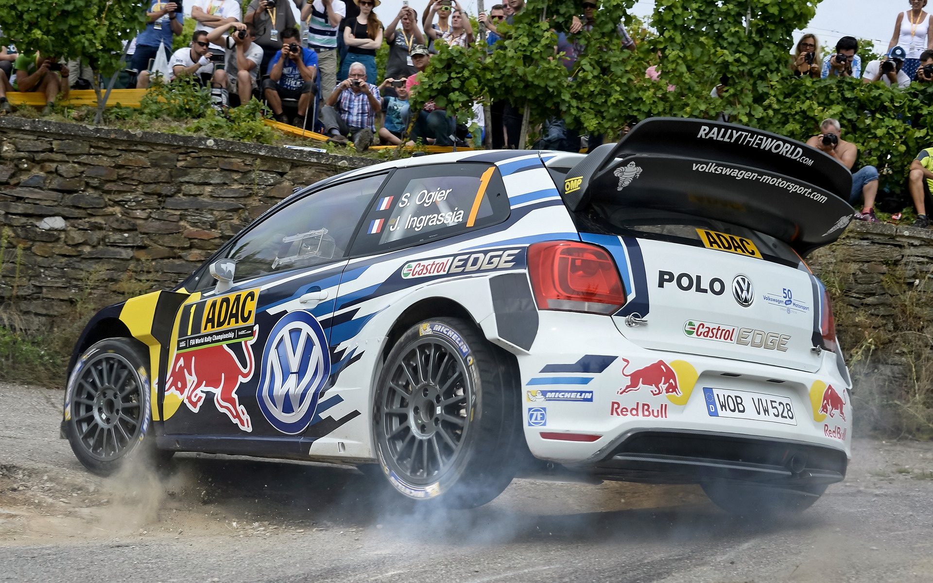 2016 Mitsubishi Eclipse >> 2016 Volkswagen Polo R WRC - Wallpapers and HD Images ...