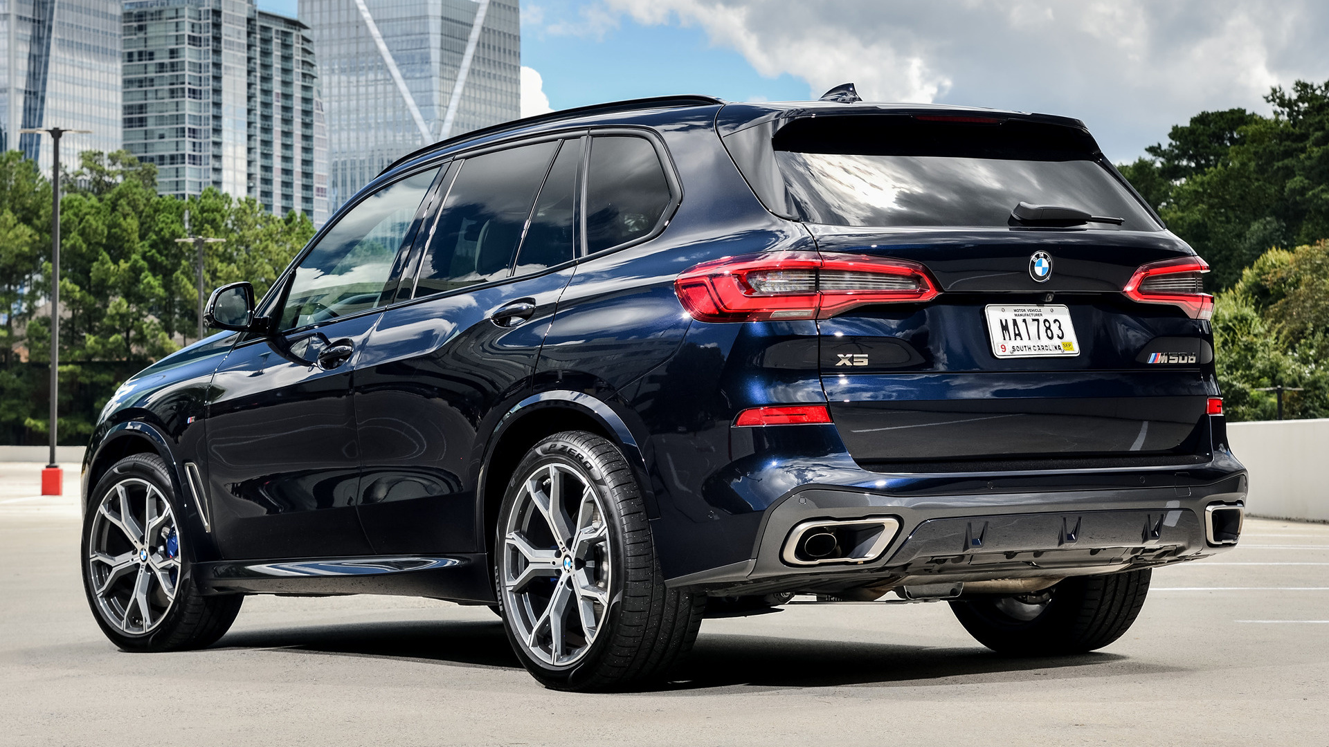 2018 Bmw X5 M50d Wallpapers And Hd Images Car Pixel