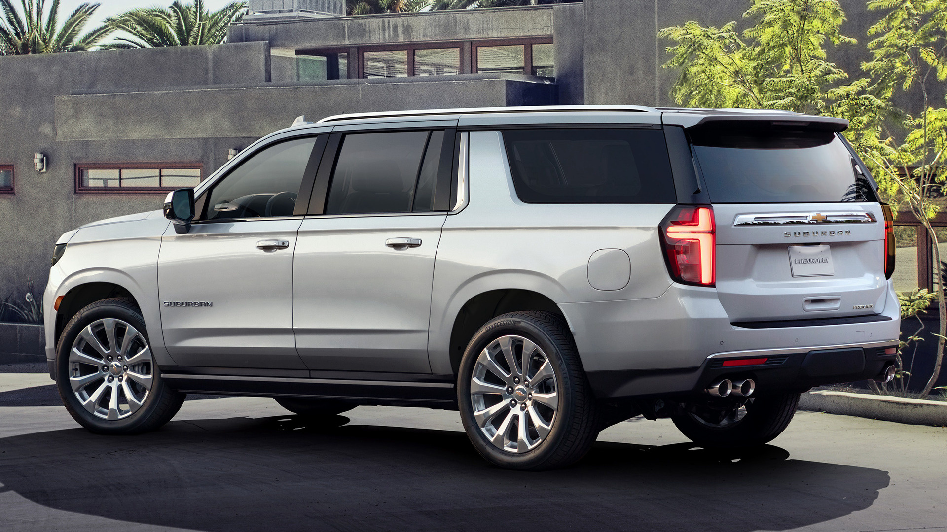 2021 Chevrolet Suburban - Wallpapers and HD Images | Car Pixel
