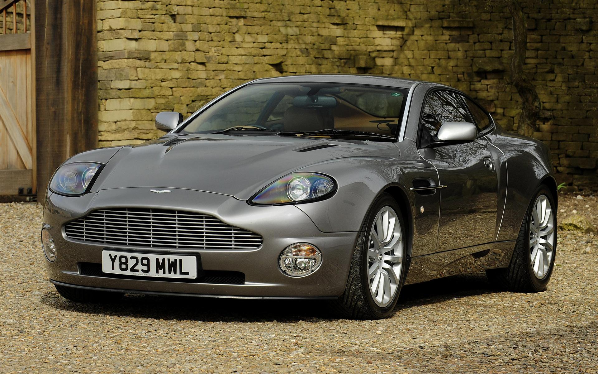2001 Aston Martin V12 Vanquish Uk Wallpapers And Hd Images Car Pixel