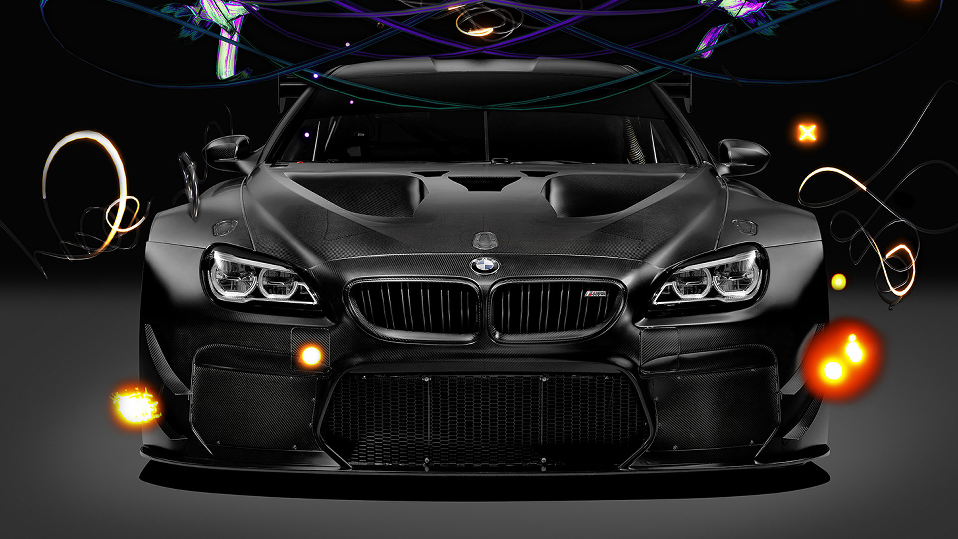 2017 bmw m6 gt3 art car by cao fei wallpapers and hd images car pixel. Black Bedroom Furniture Sets. Home Design Ideas