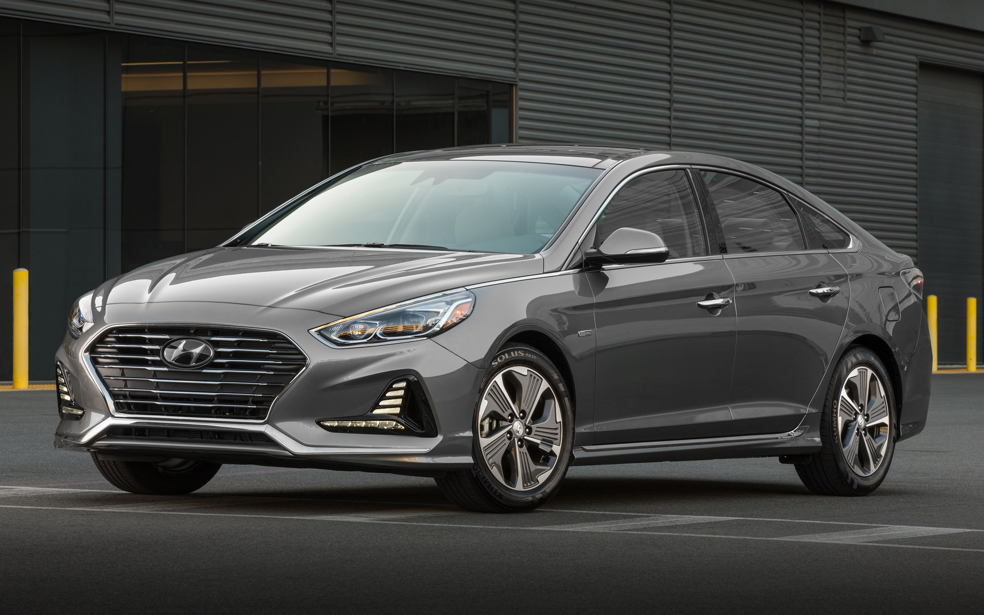 2018 Hyundai Sonata Hybrid - Wallpapers and HD Images ...