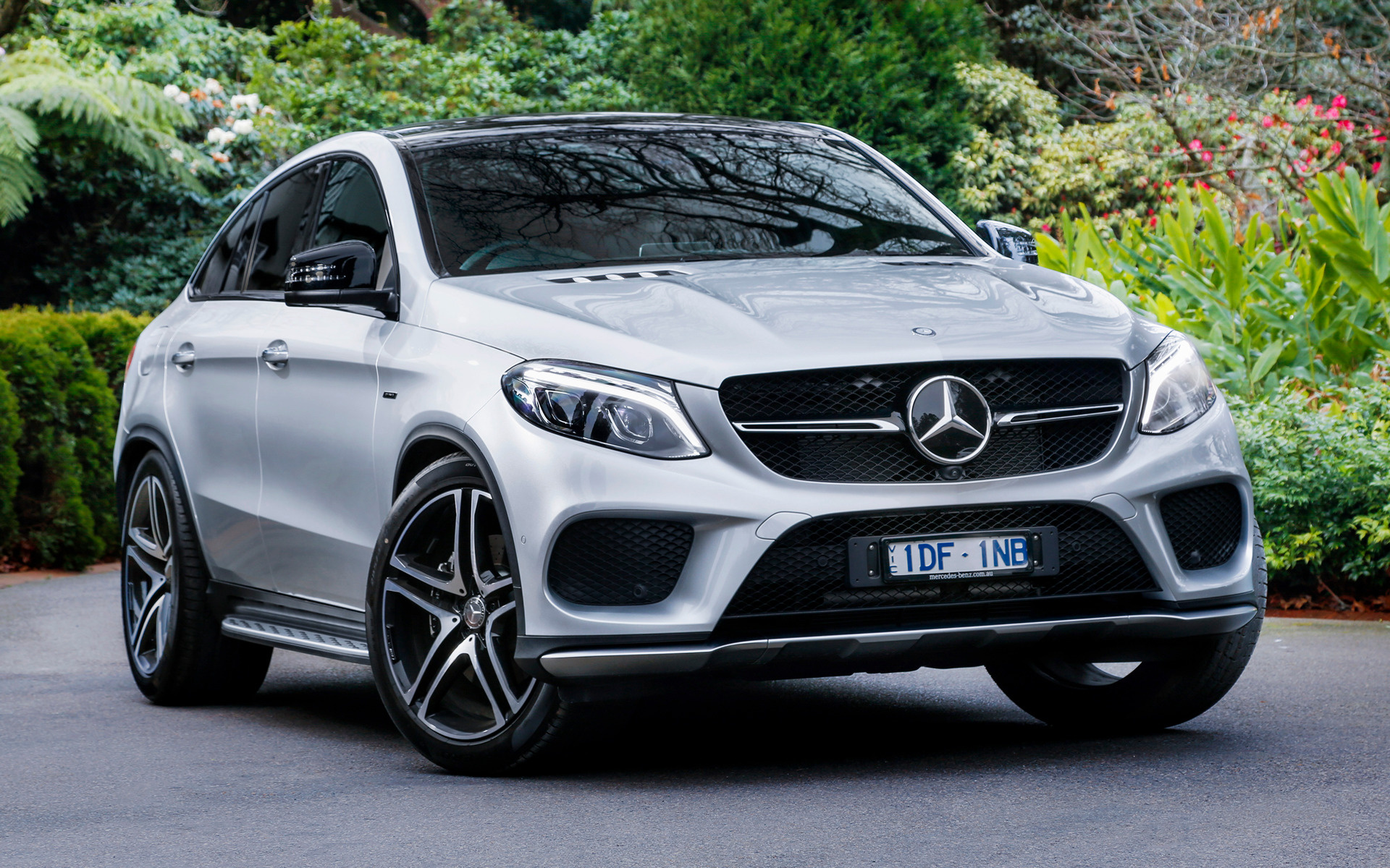 Mercedes benz gle 450 amg coupe 2015 au wallpapers and for Mercedes benz gle 450