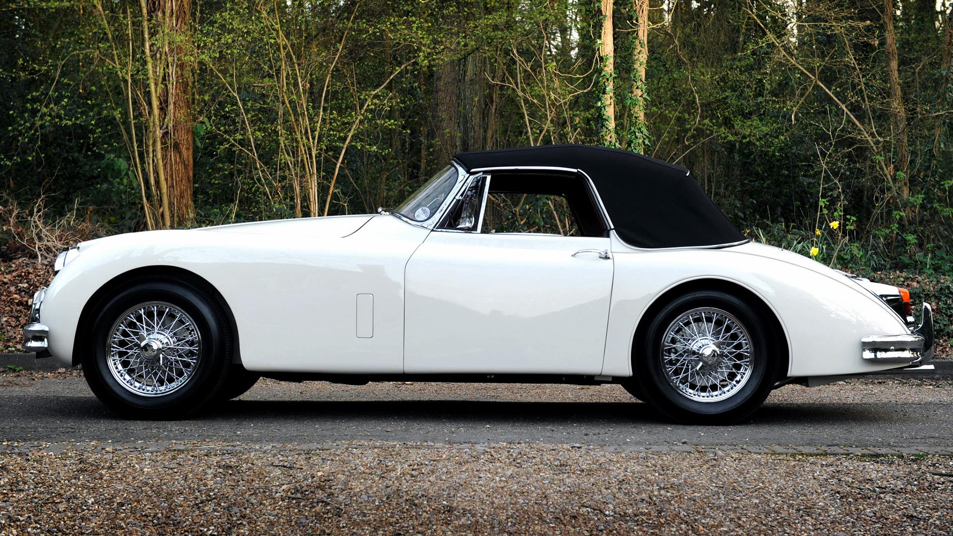 Jaguar XK150 Drophead Coupe (1958) UK Wallpapers and HD ...