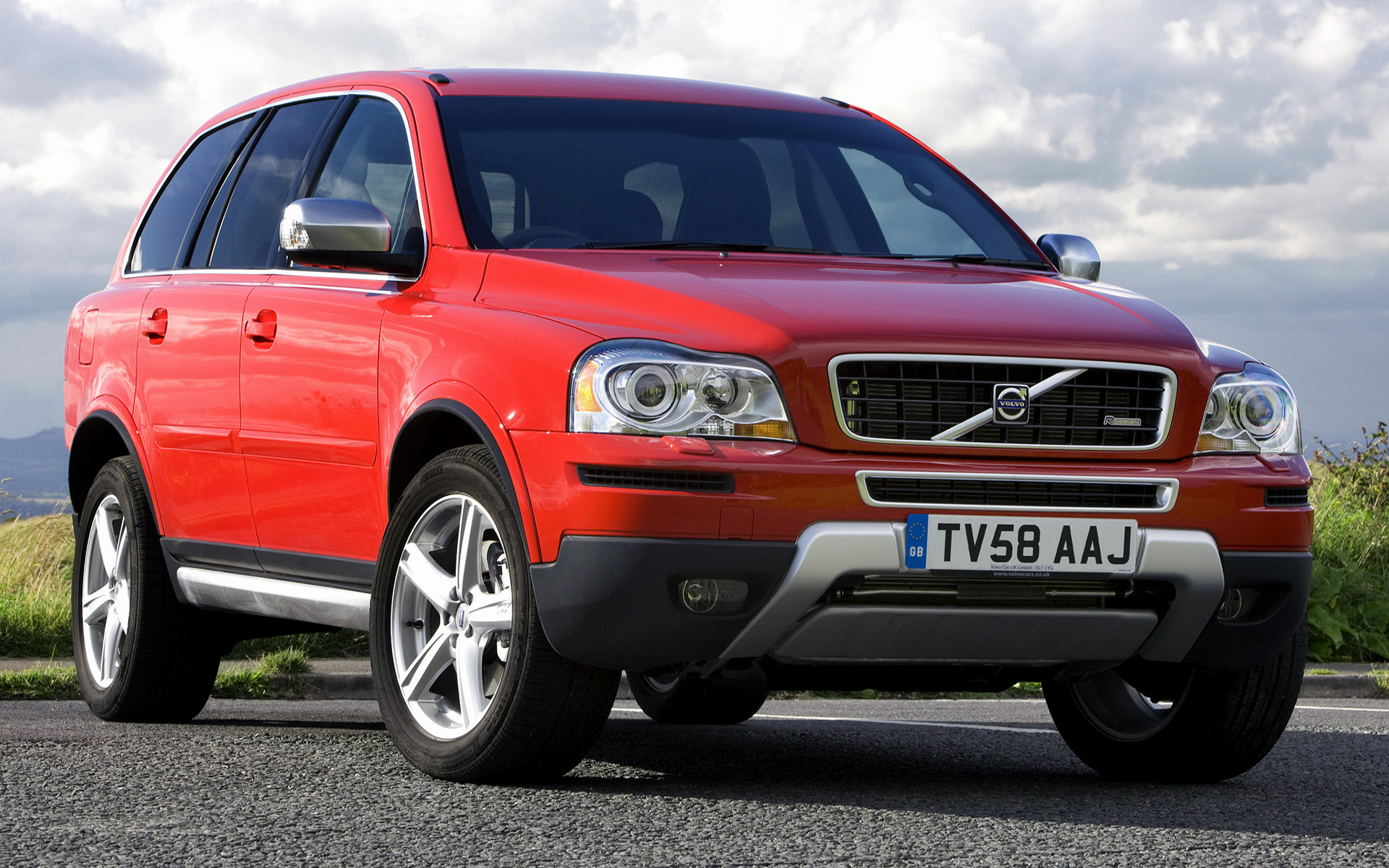 Volvo Xc90 V8 R Design 2008 Uk Wallpapers And Hd Images
