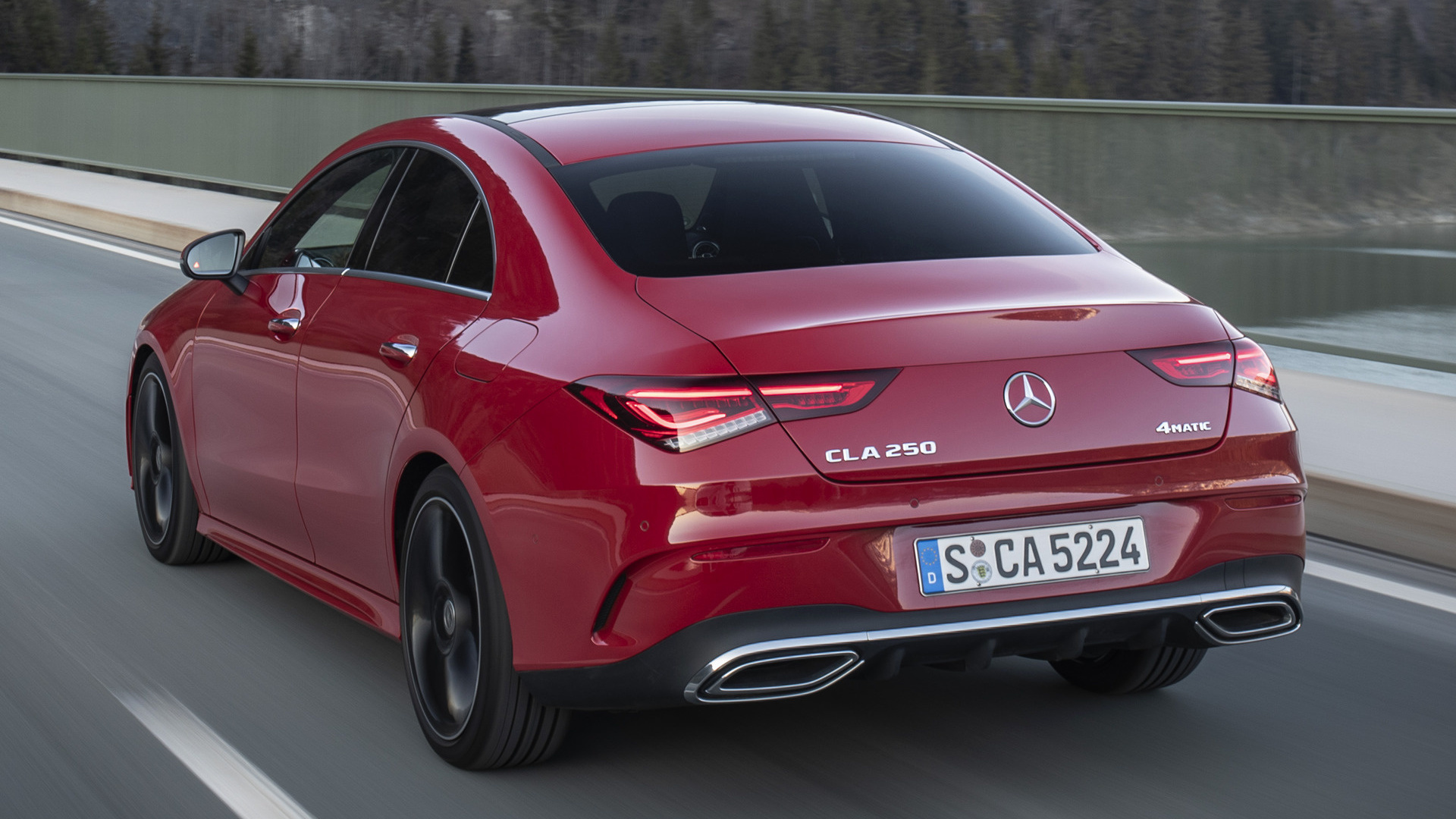 Mercedes Benz Cla >> 2019 Mercedes-Benz CLA-Class AMG Line - Wallpapers and HD ...