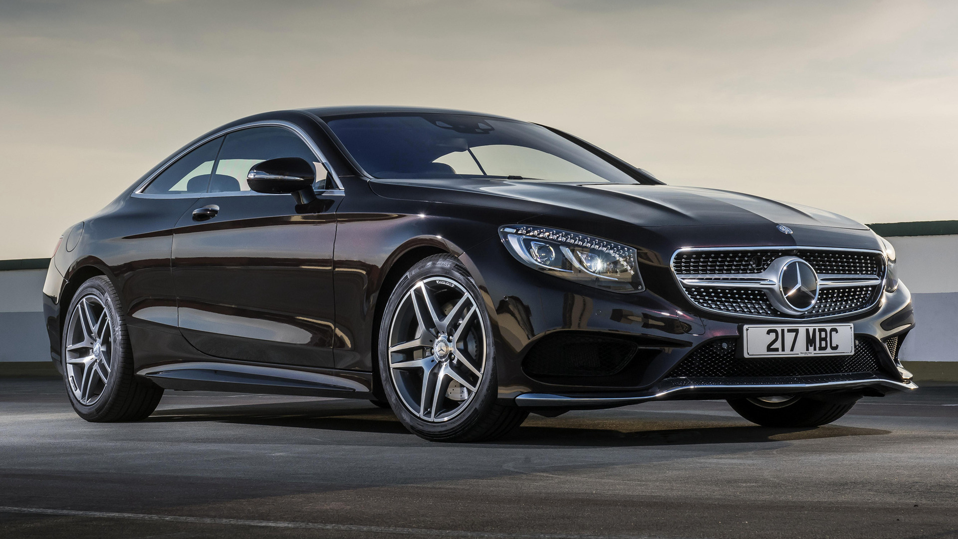 Toyota Of Pullman >> 2014 Mercedes-Benz S-Class Coupe AMG Line (UK) - Wallpapers and HD Images | Car Pixel