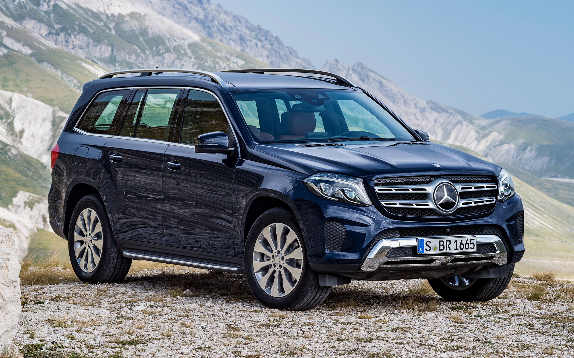 2016 Mercedes-Benz GLS-Class - Wallpapers and HD Images ...