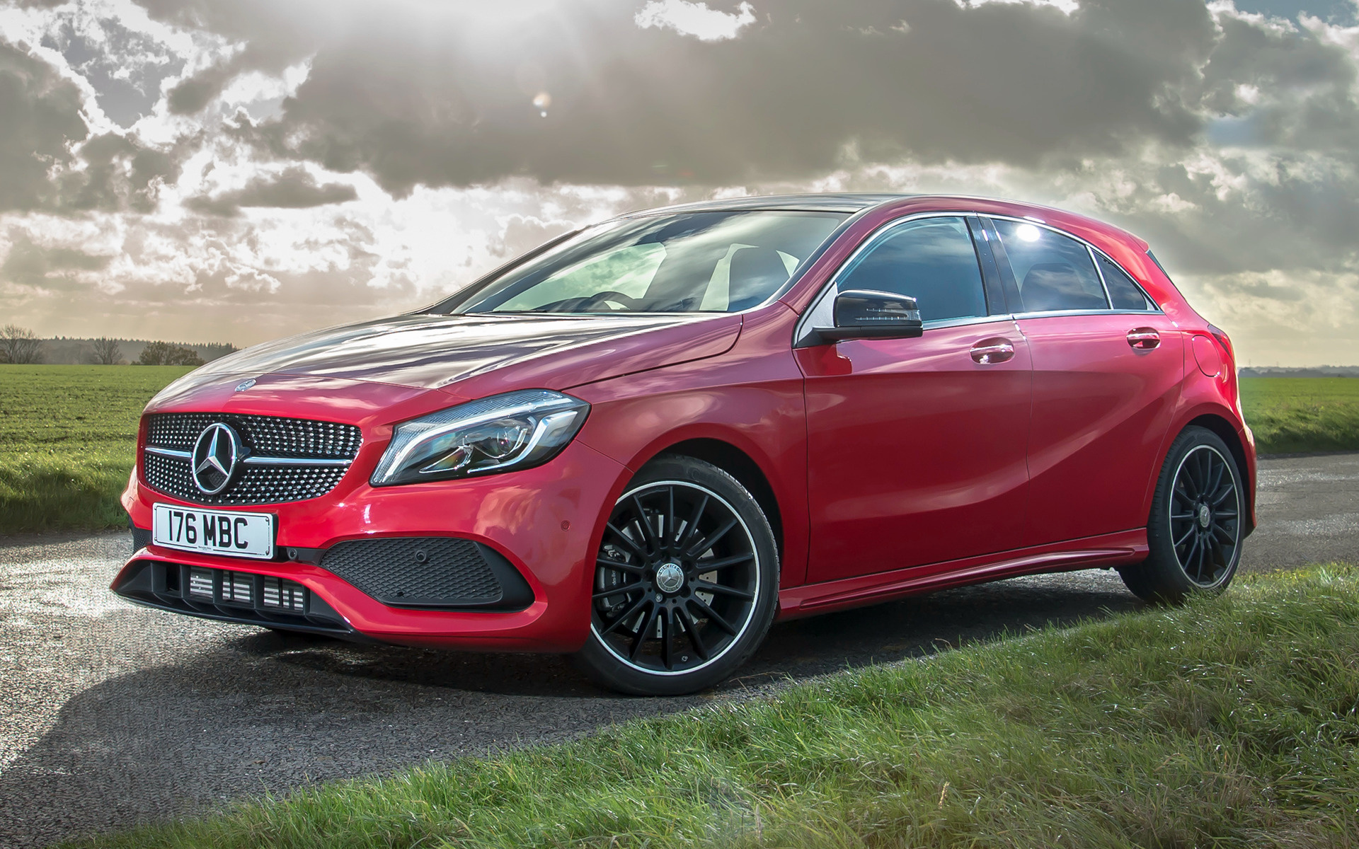 2015 mercedes benz a class amg line uk wallpapers and. Black Bedroom Furniture Sets. Home Design Ideas
