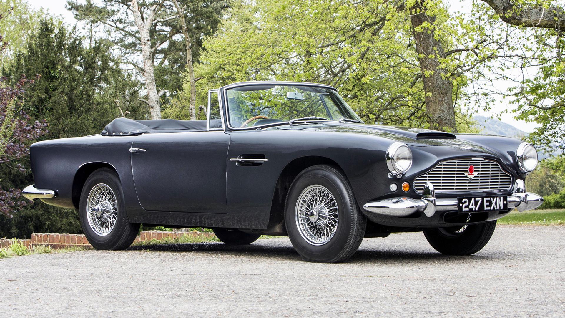 1961 Aston Martin Db4 Convertible Iv Uk Hintergrundbilder Und Wallpaper In Hd Car Pixel