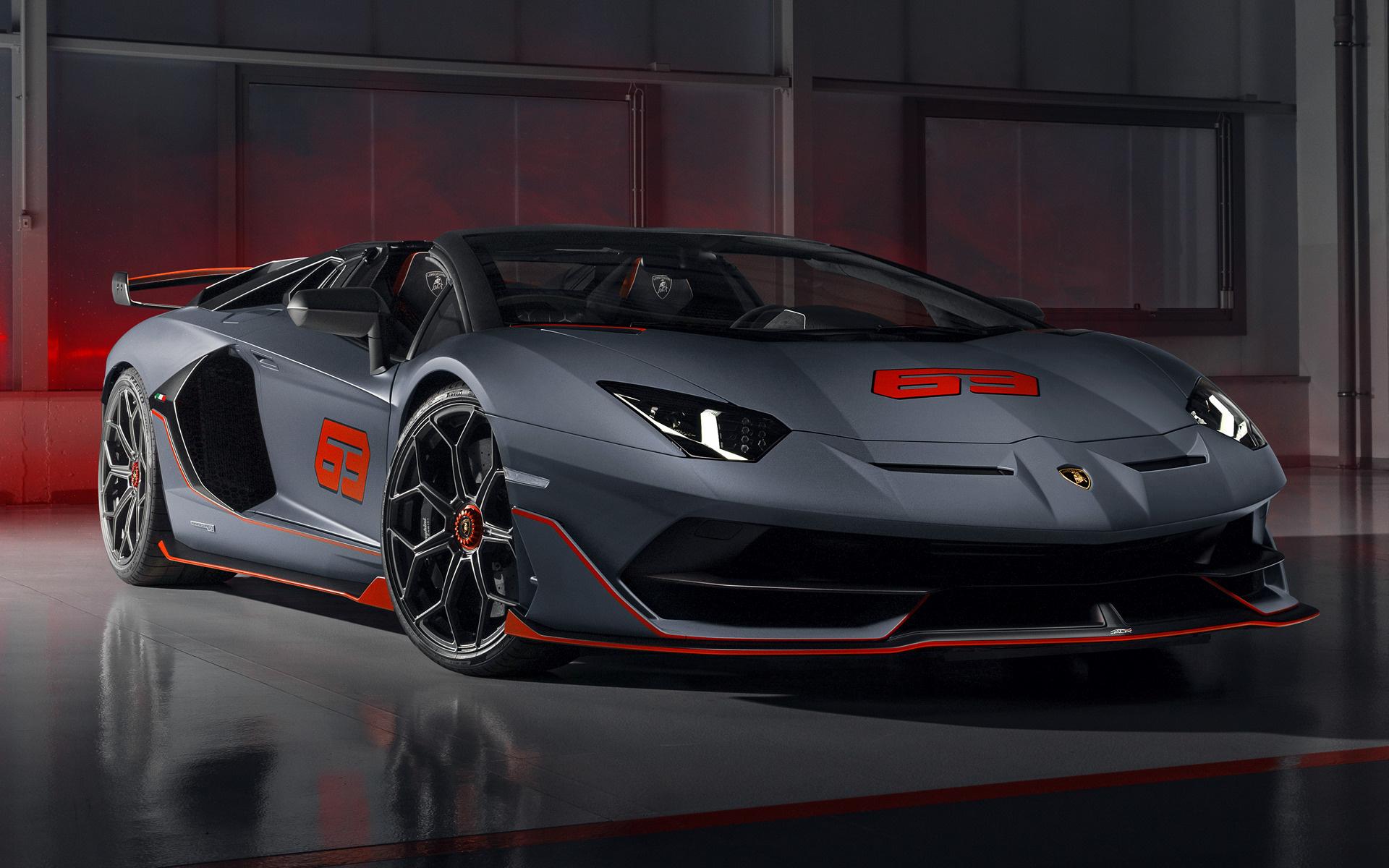 2020 Lamborghini Aventador SVJ 63 Roadster - Fonds d'écran et images HD   Car Pixel
