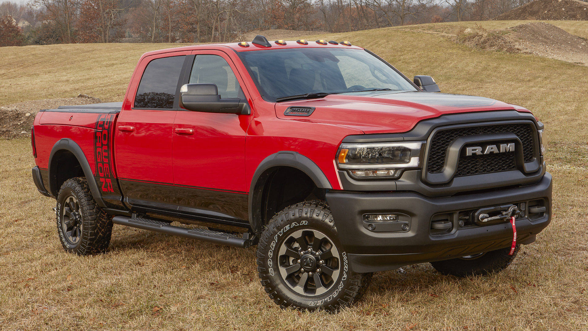 2019 Ram 2500 Power Wagon Crew Cab Wallpapers And Hd