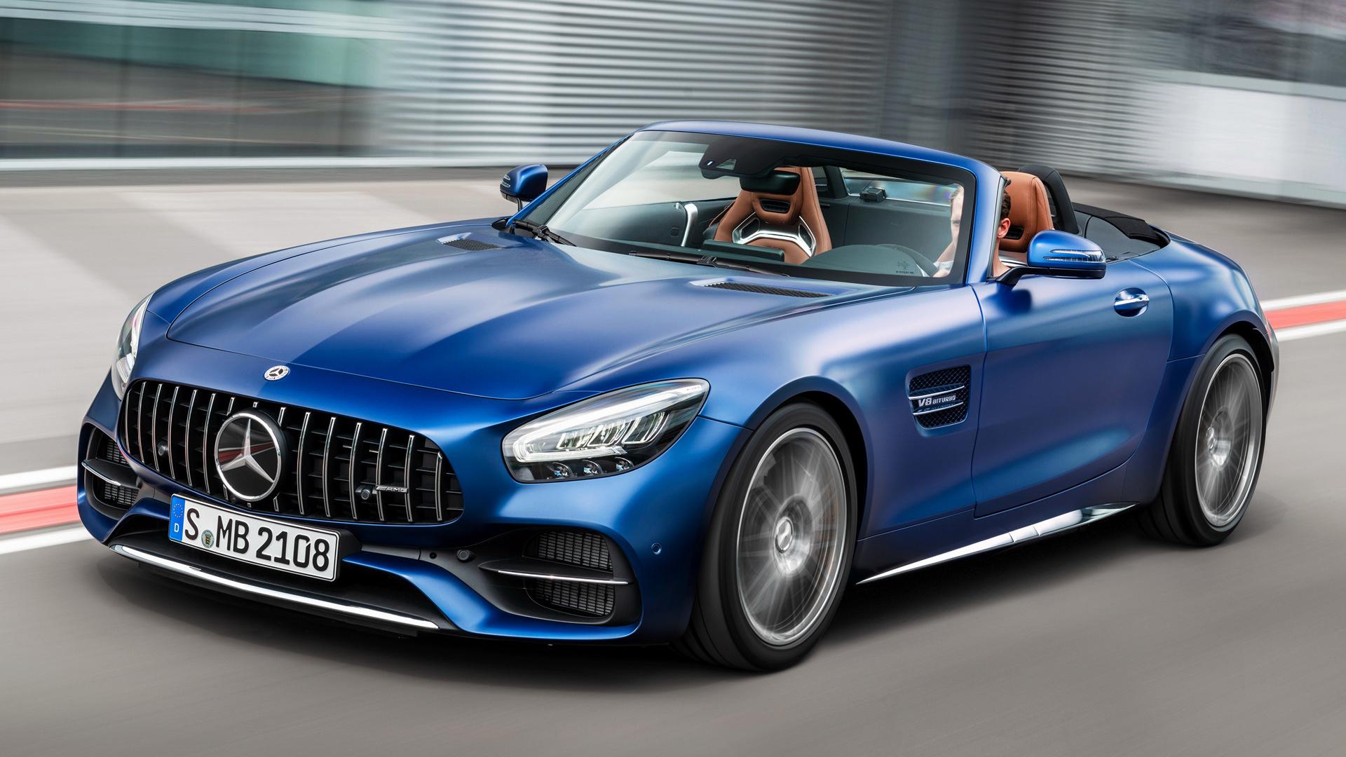 2019 Mercedes-AMG GT C Roadster - Fonds d'écran et images ...