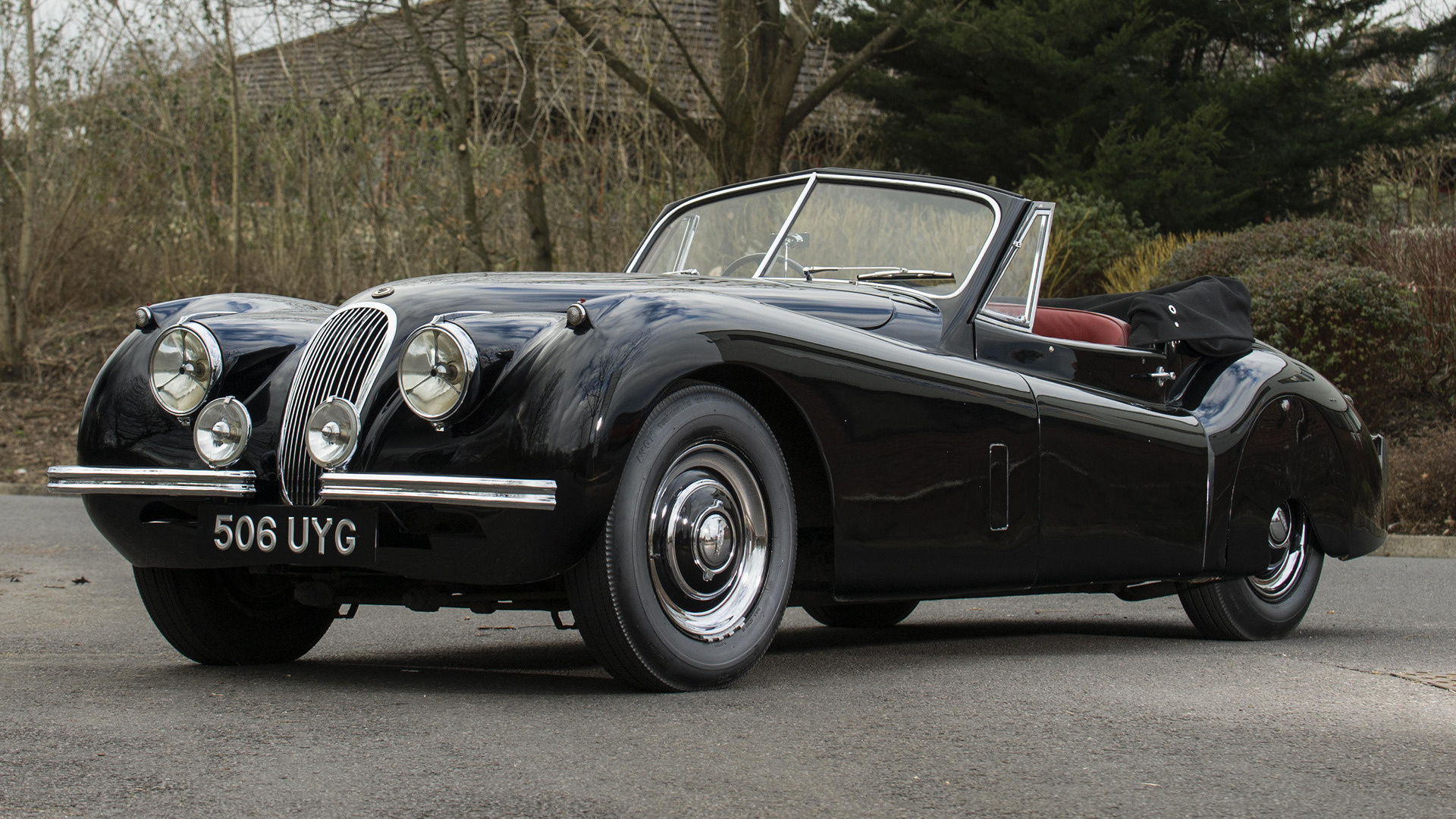1953 Jaguar Xk120 Drophead Coupe Uk Wallpapers And Hd