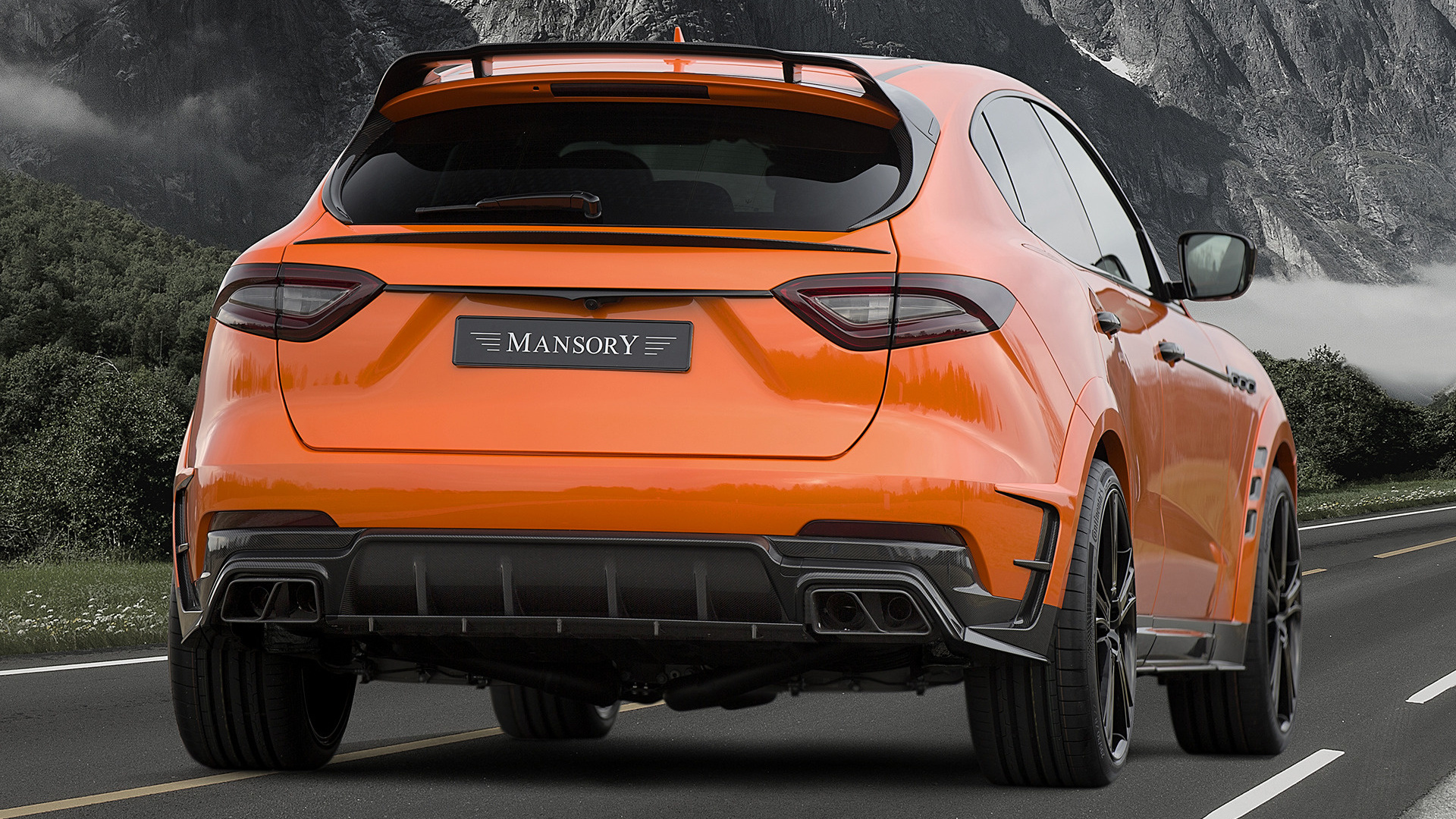 2017 maserati levante by mansory wallpapers and hd images car pixel - Maserati levante wallpaper ...