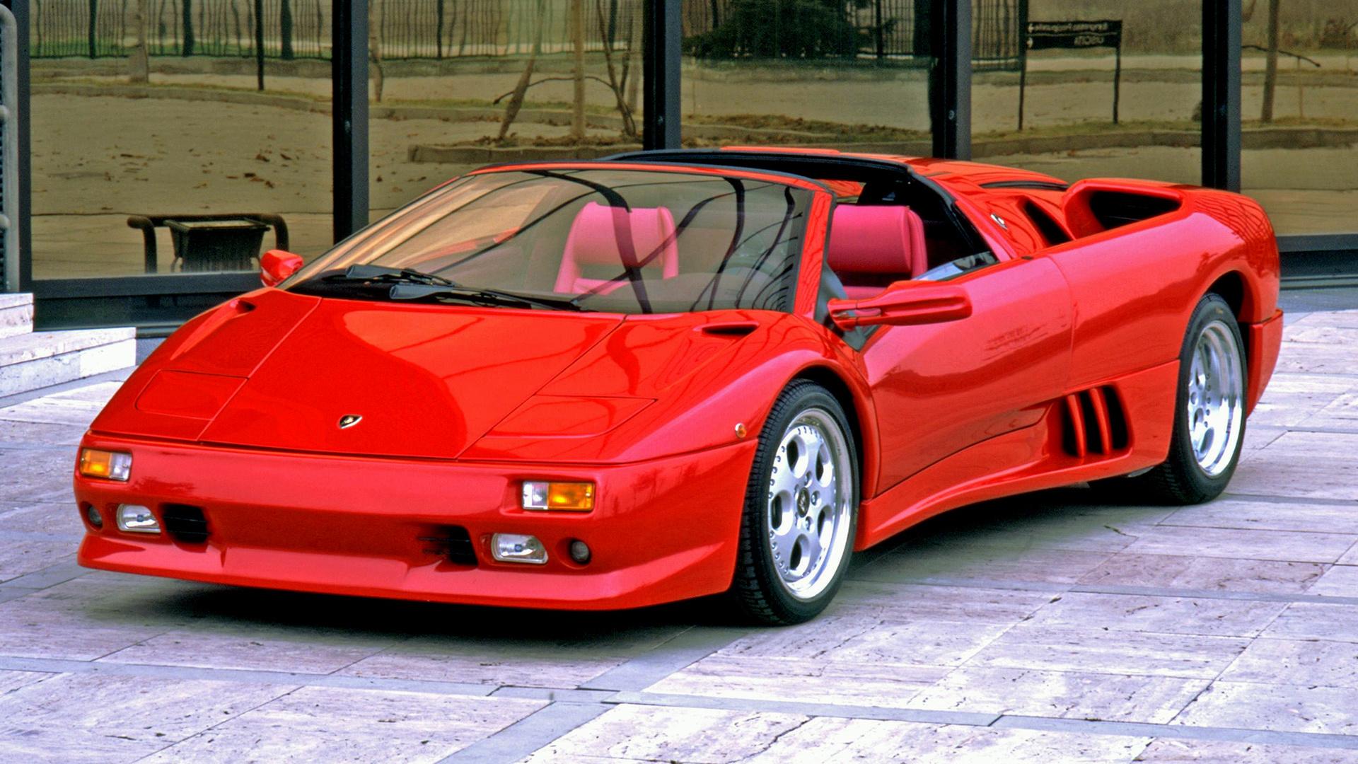 Lamborghini Diablo Vt Roadster 1995 Wallpapers And Hd