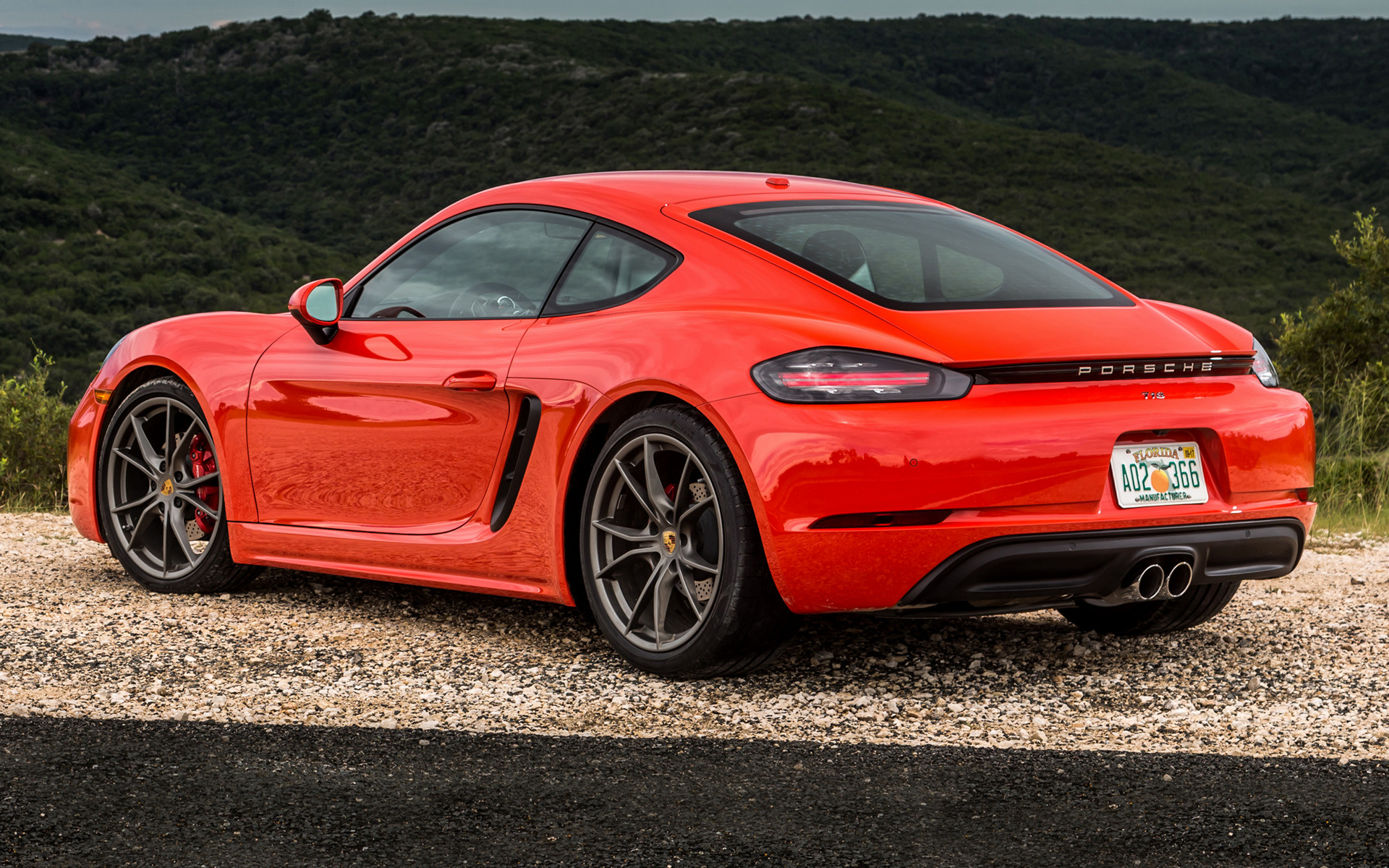 Porsche 718 Cayman S (2017) US Wallpapers and HD Images ...