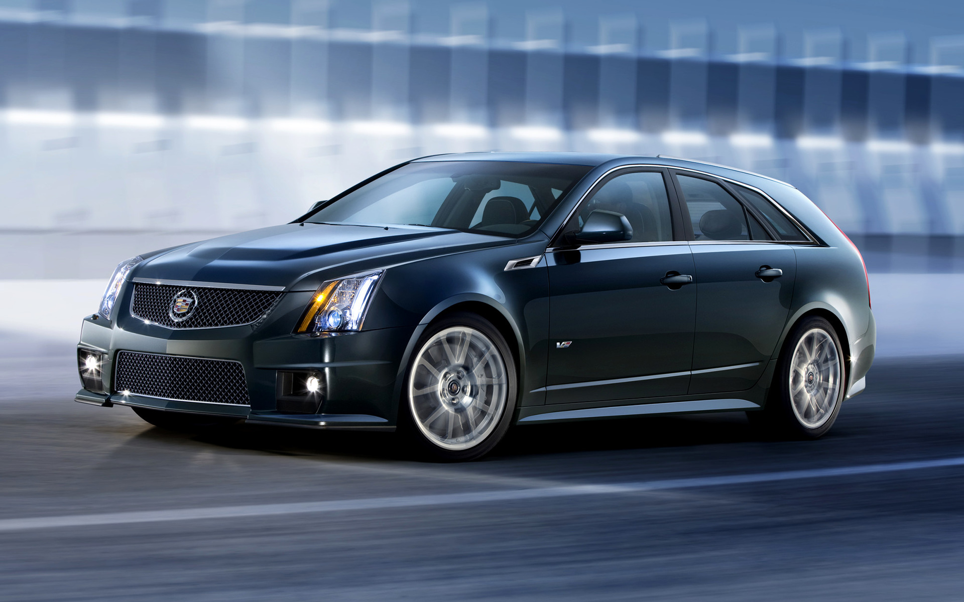 2010 Cadillac Cts V Sport Wagon Wallpapers And Hd Images
