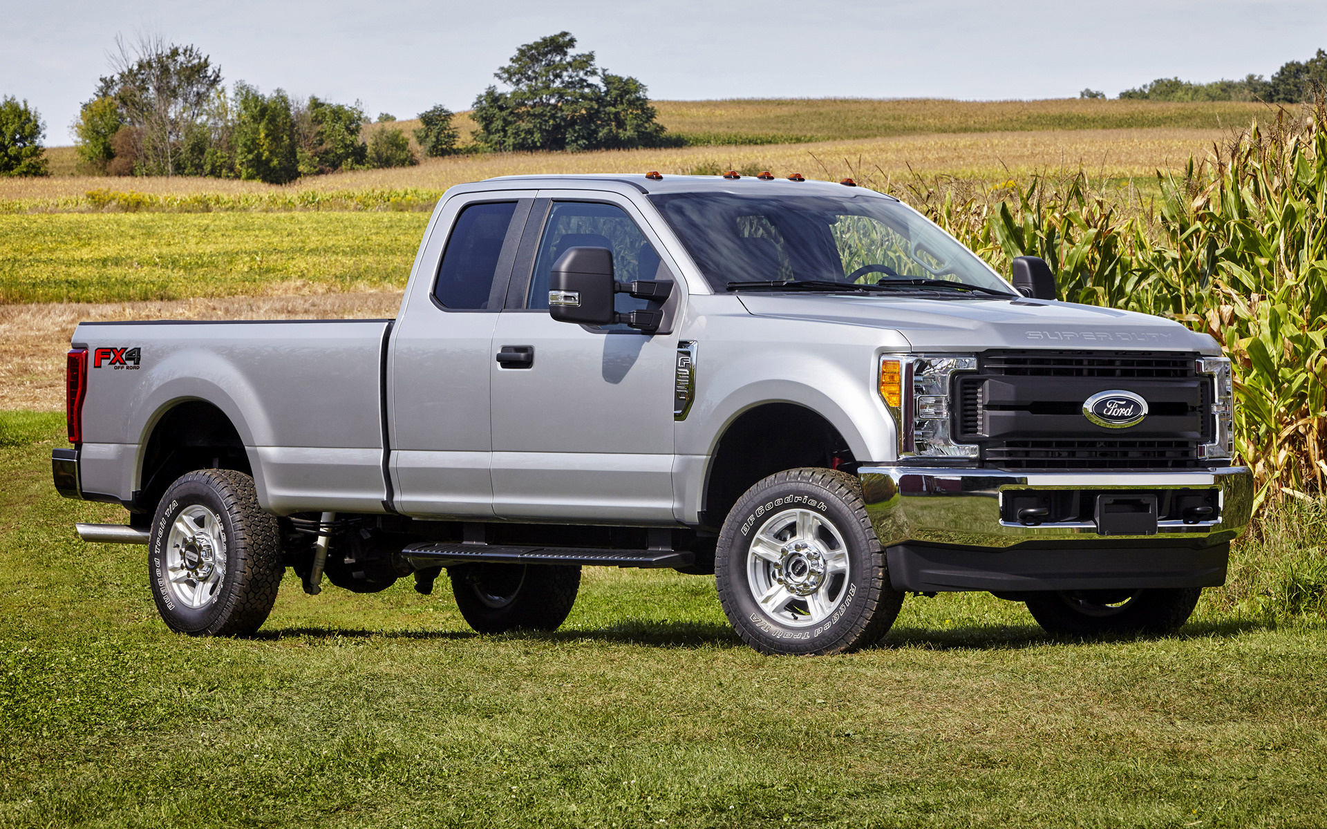 Ford F 250 Xl Fx4 Super Cab 2017 Wallpapers And Hd