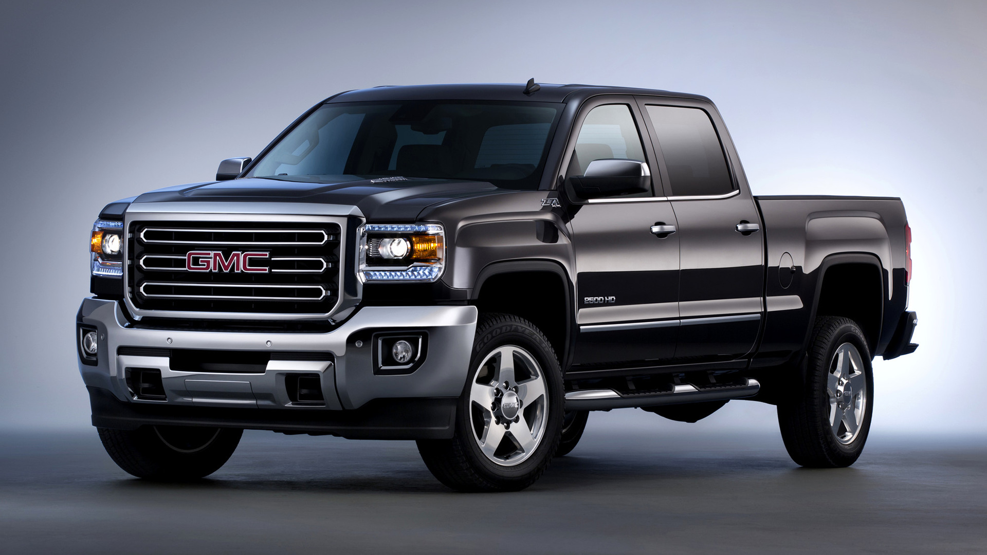 2015 GMC Sierra 2500 HD SLT Crew Cab - Wallpapers and HD ...