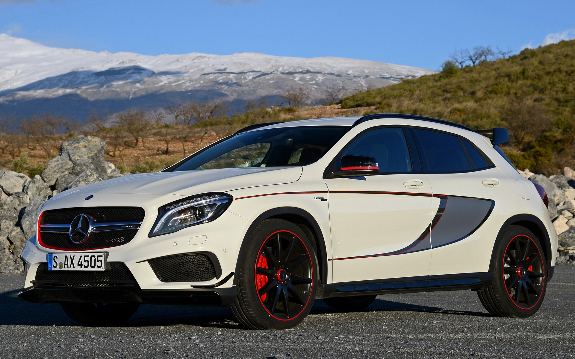 2014 mercedes benz gla 45 amg edition 1 wallpapers and. Black Bedroom Furniture Sets. Home Design Ideas