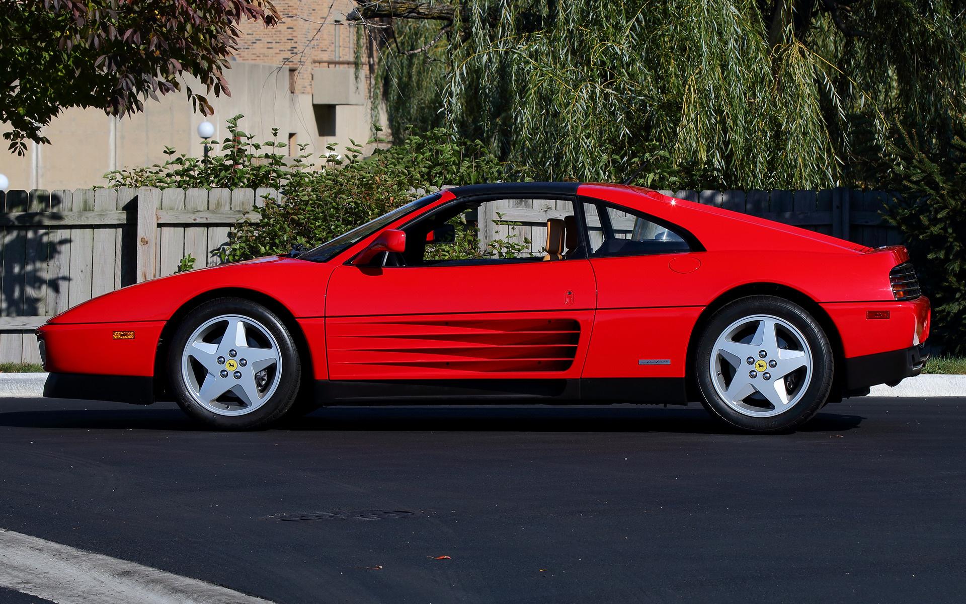 1989 Ferrari 348 Ts Us Fondos De Pantalla E Imágenes En
