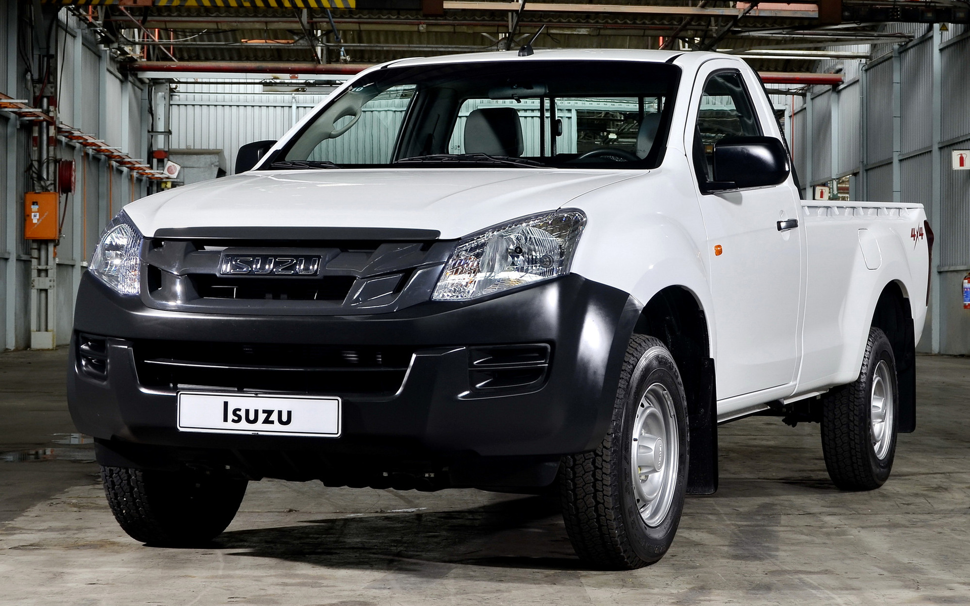 Who Makes Cadillac >> Isuzu D-Max Single Cab (2012) Wallpapers and HD Images ...