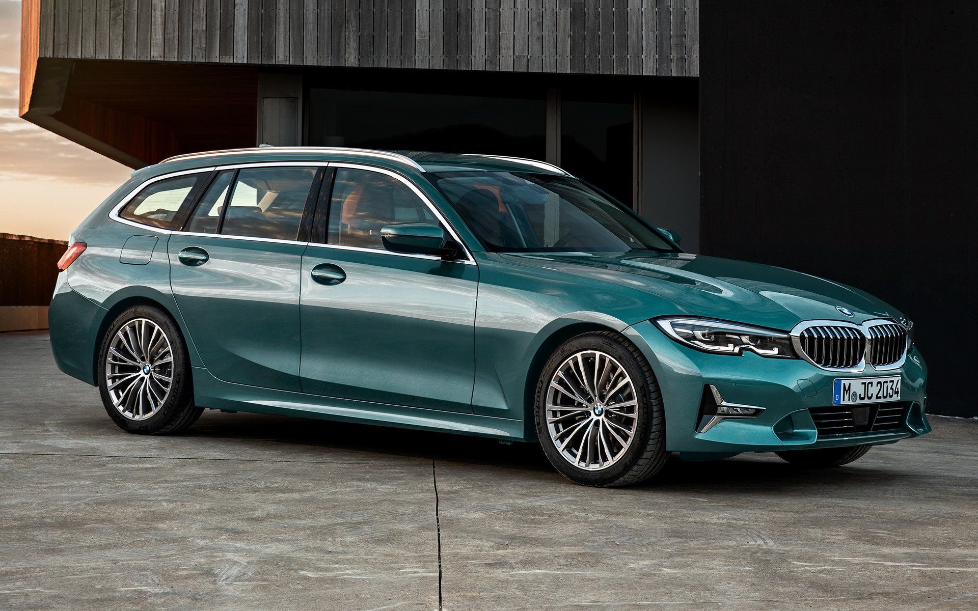 2019 BMW 3 Series Touring - Wallpapers and HD Images | Car ...