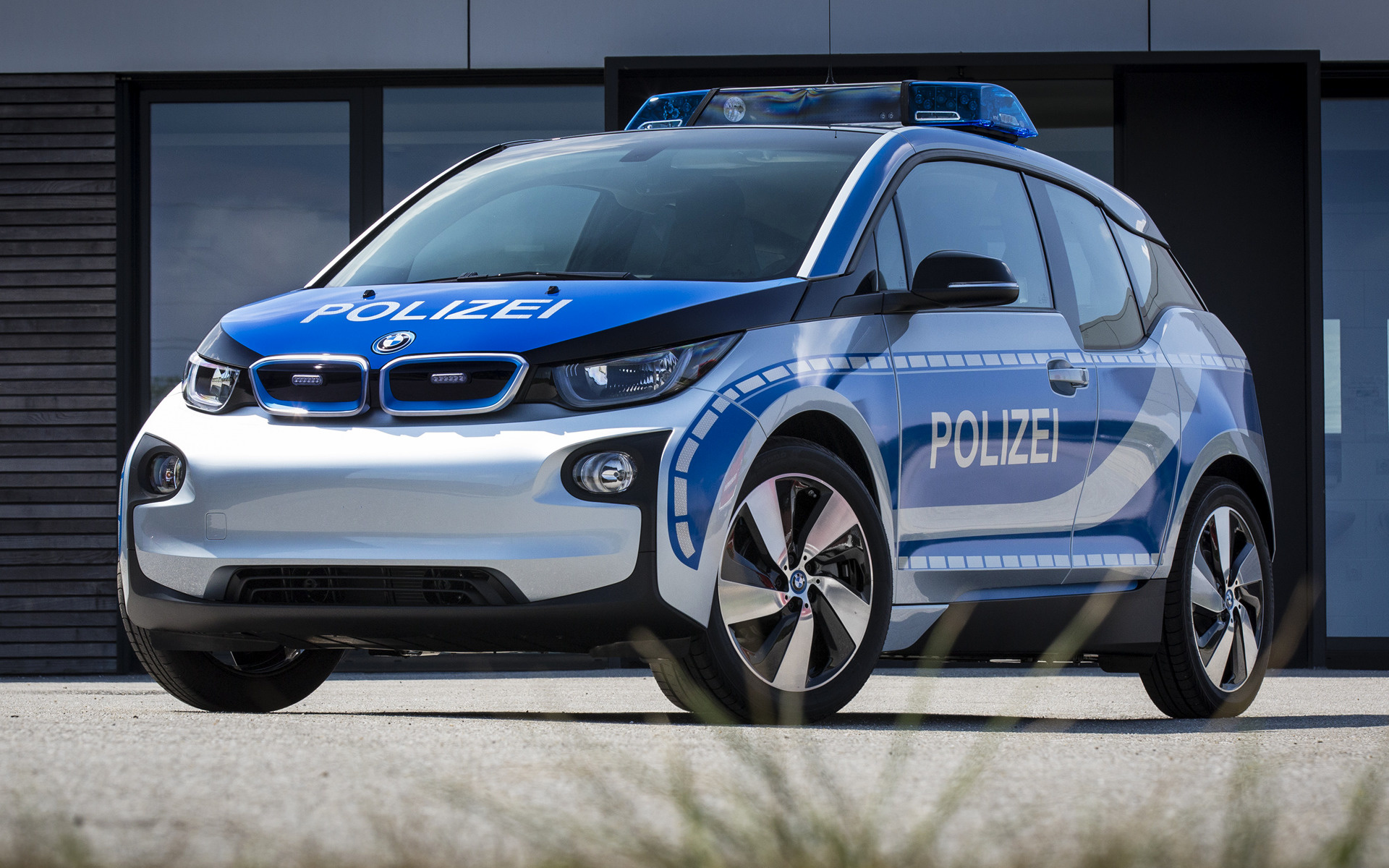 2015 BMW i3 Polizei - Wallpapers and HD Images   Car Pixel