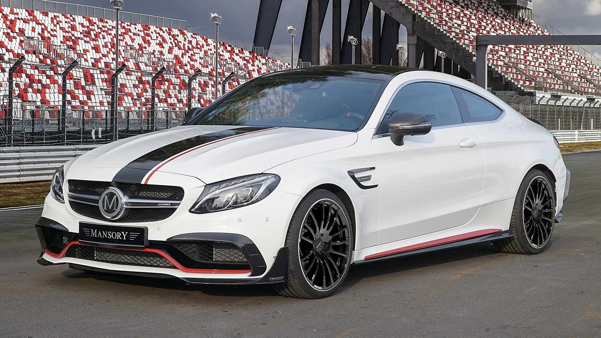 2018 Mercedes Amg C 63 S Coupe By Mansory Wallpapers And