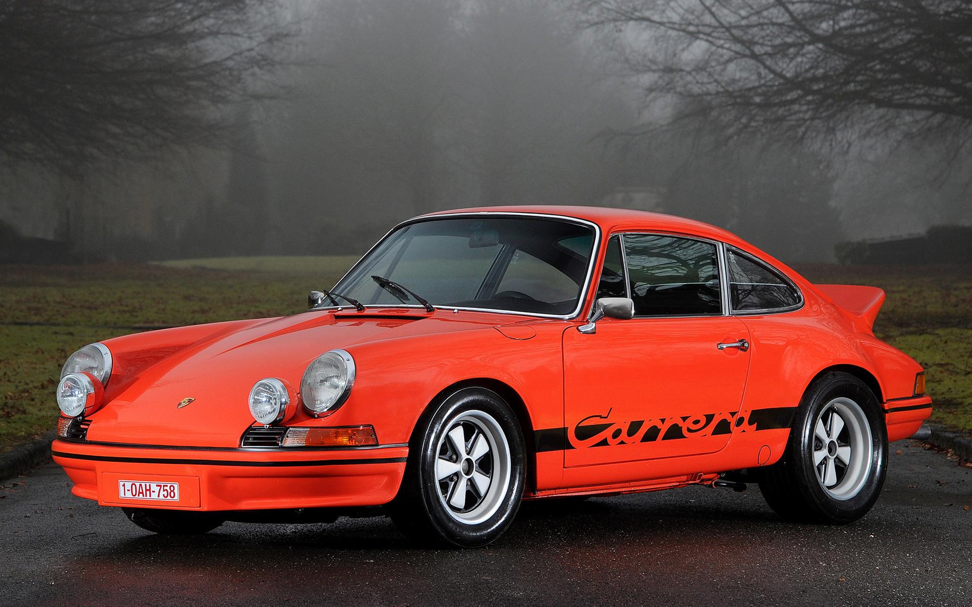 Sport Wallpaper Porsche 911: Porsche 911 Carrera RS Sport (1972) Wallpapers And HD