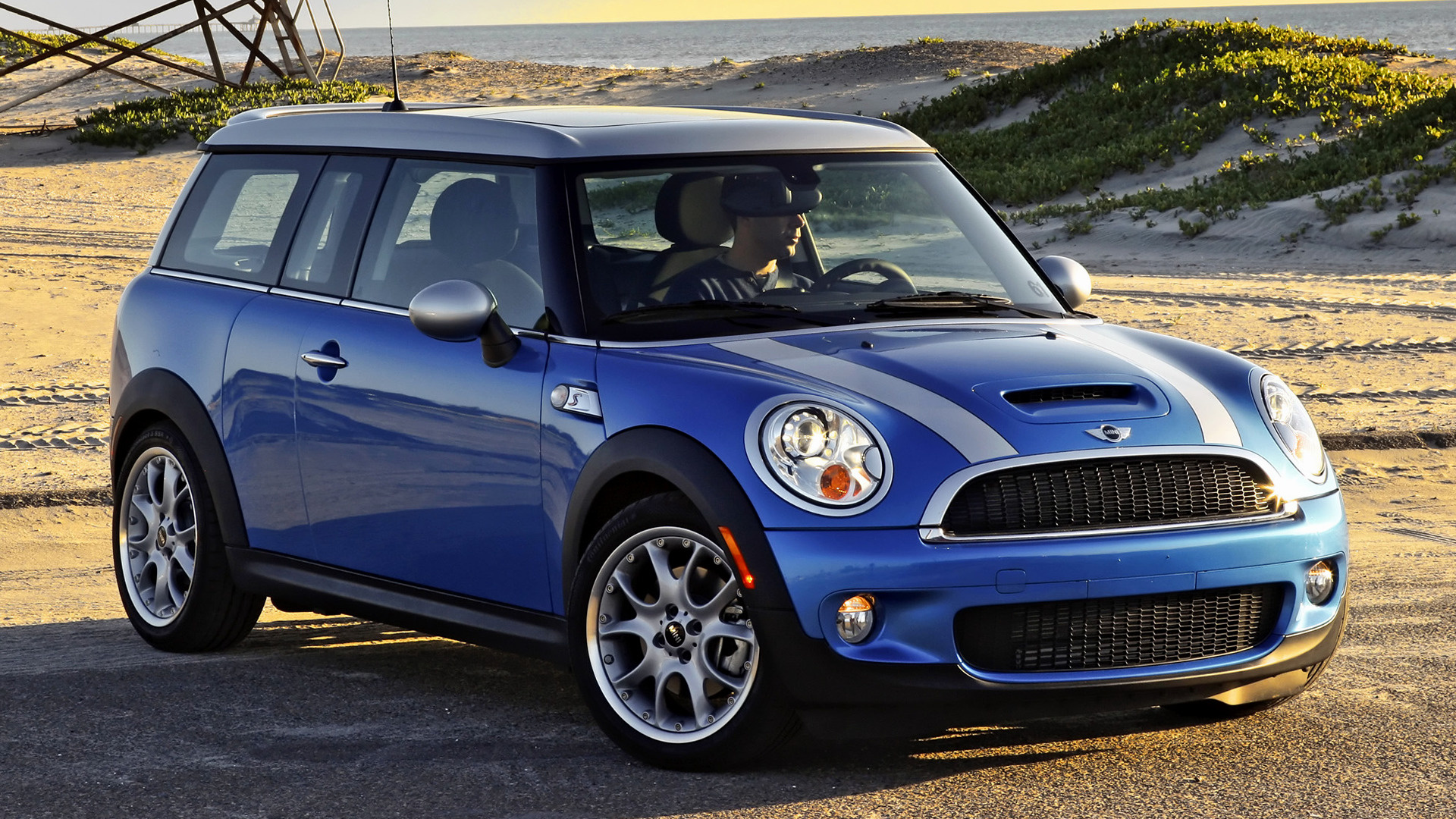 mini cooper s clubman 2007 us wallpapers and hd images car pixel. Black Bedroom Furniture Sets. Home Design Ideas