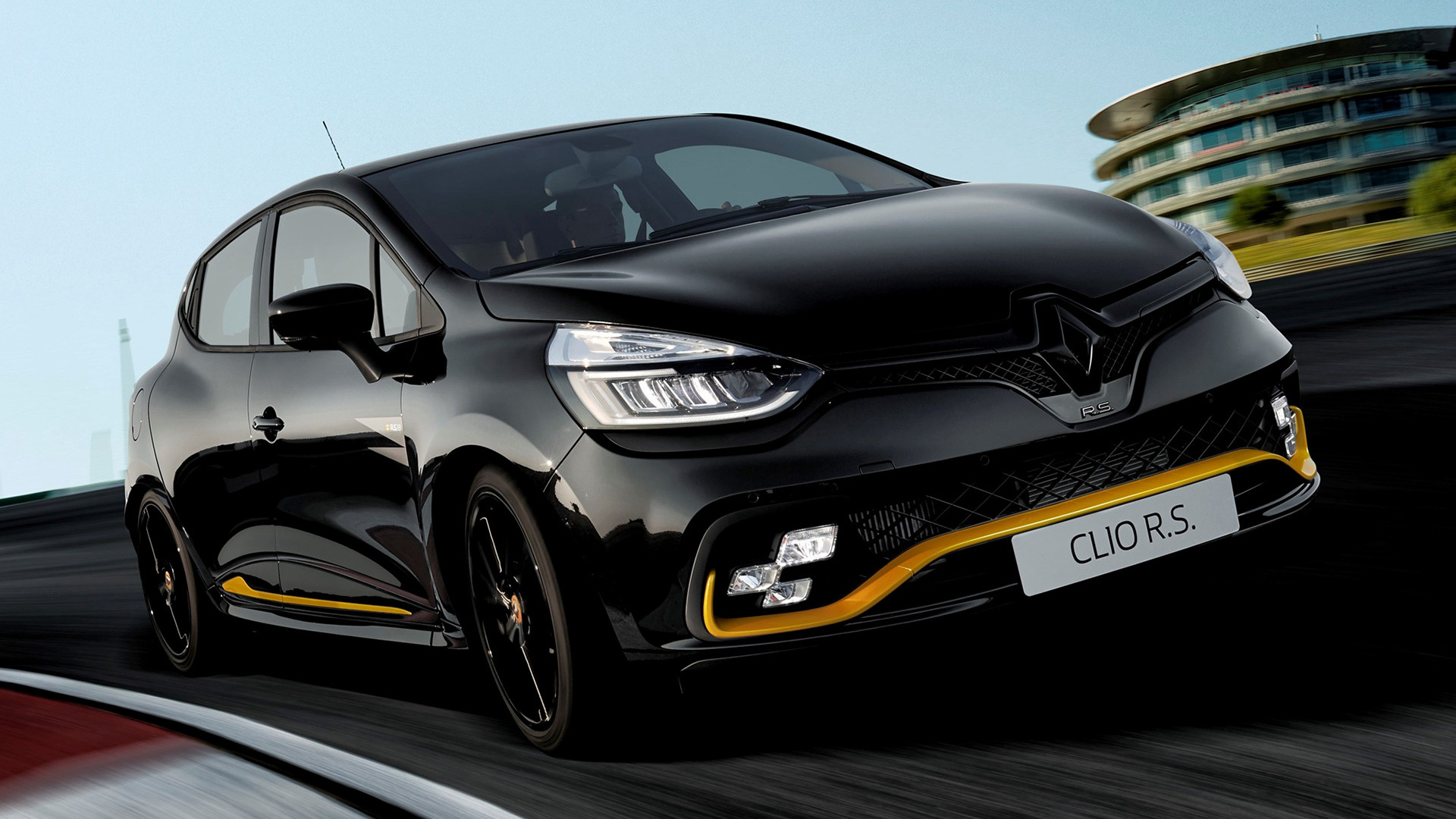 2018 renault clio rs 18 wallpapers and hd images car pixel. Black Bedroom Furniture Sets. Home Design Ideas