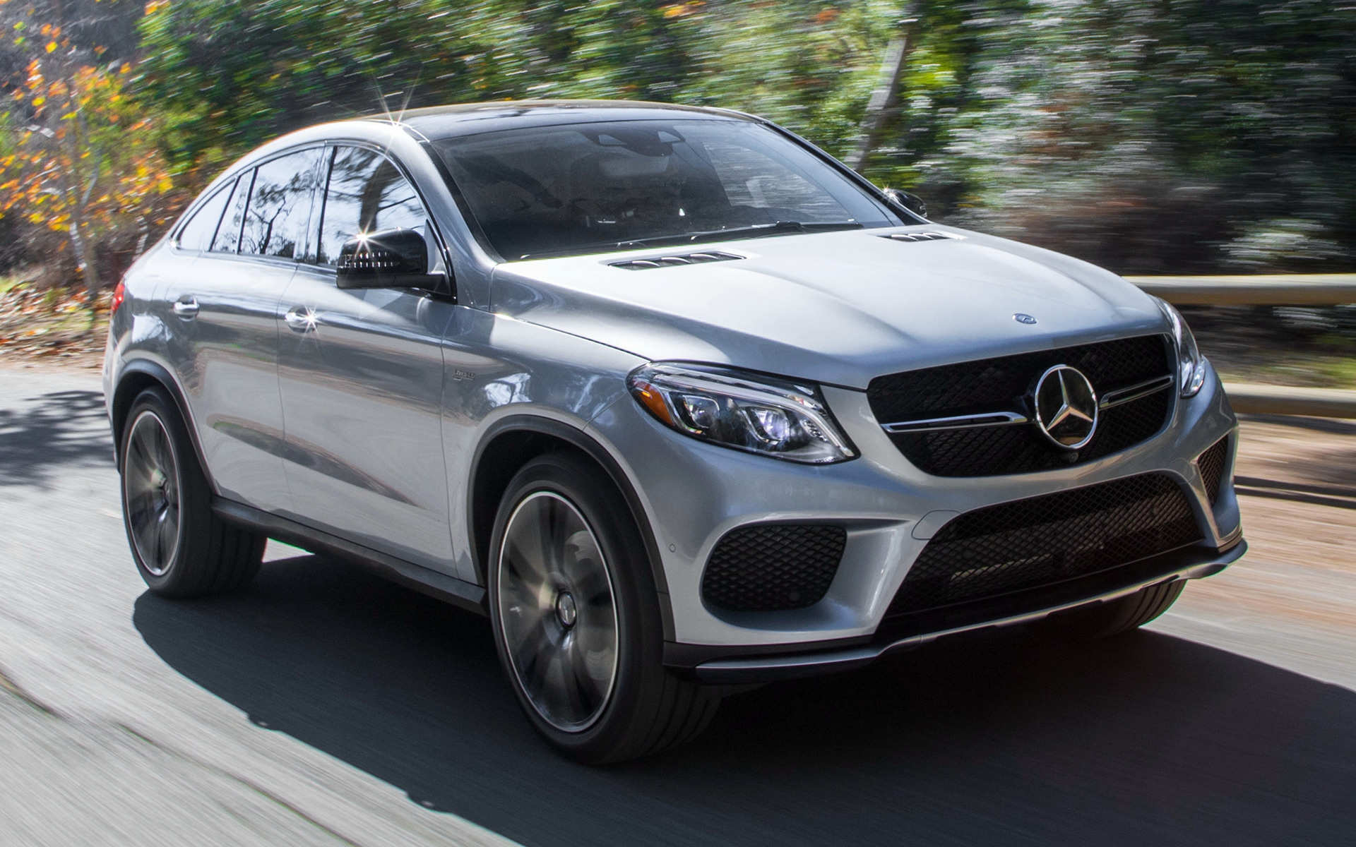 Gle 63s Amg >> 2017 Mercedes-AMG GLE 43 Coupe (US) - Wallpapers and HD Images | Car Pixel