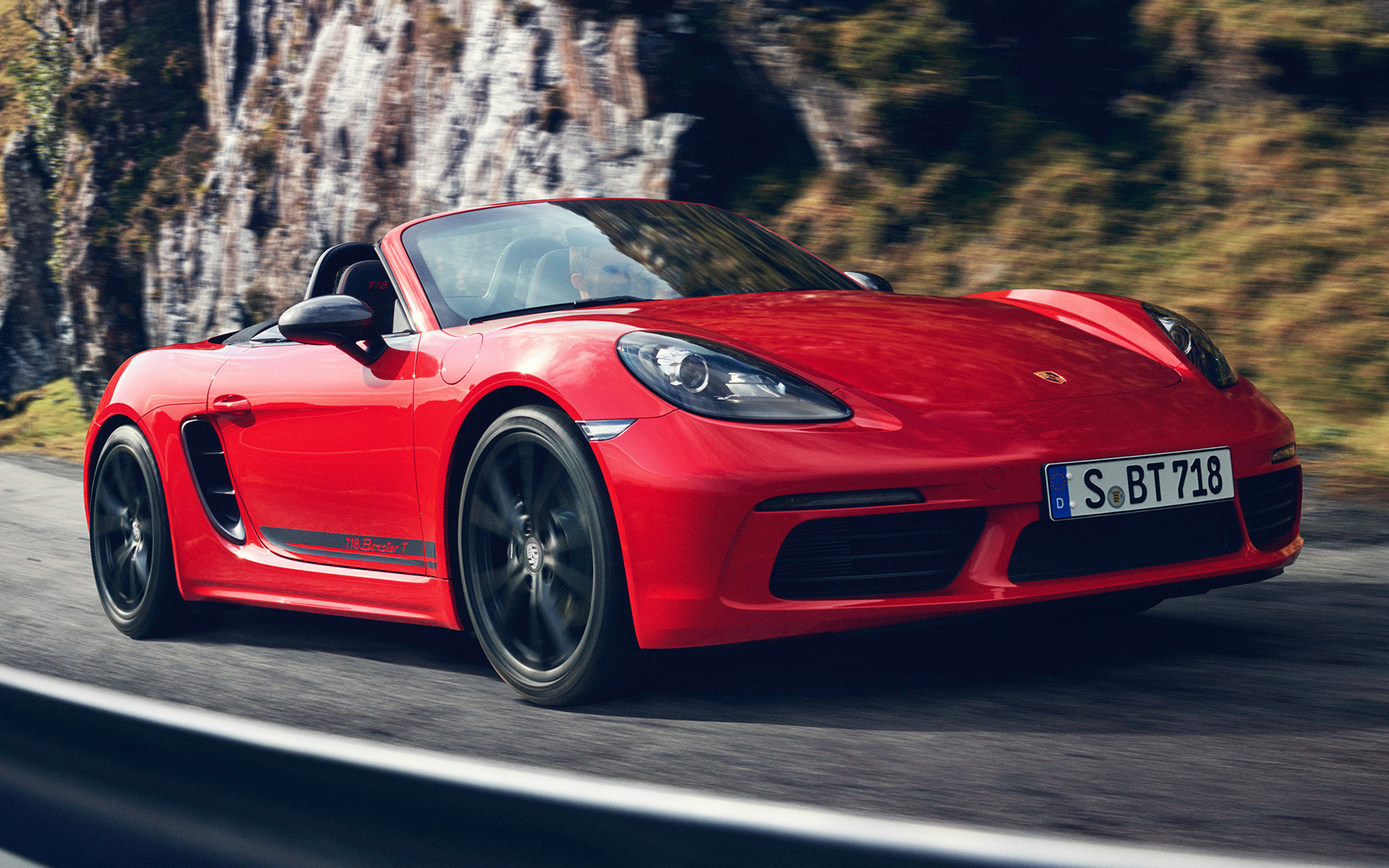 Porsche 718 Boxster T 2019 Wallpapers And Hd Images Car Pixel