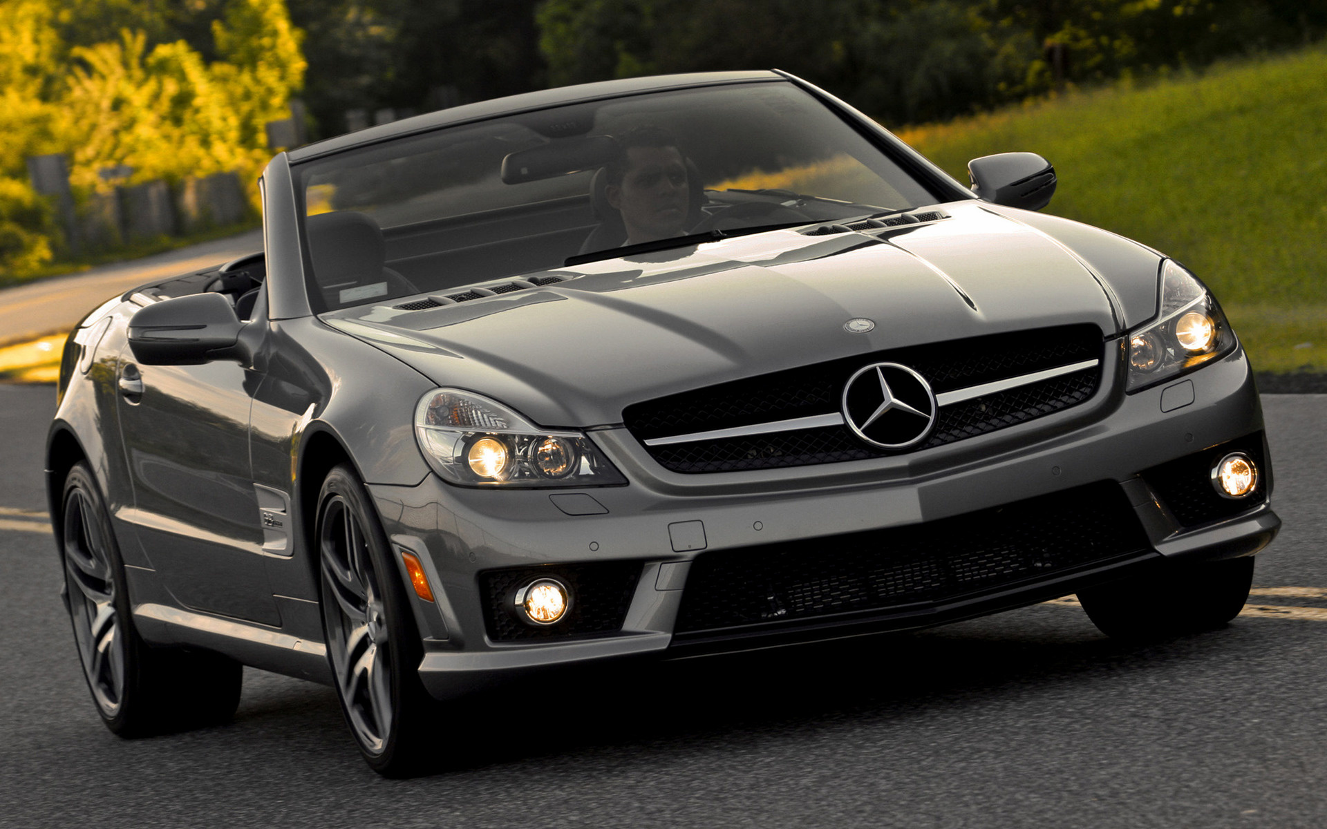mercedes benz sl 63 amg 2008 us wallpapers and hd images car pixel. Black Bedroom Furniture Sets. Home Design Ideas