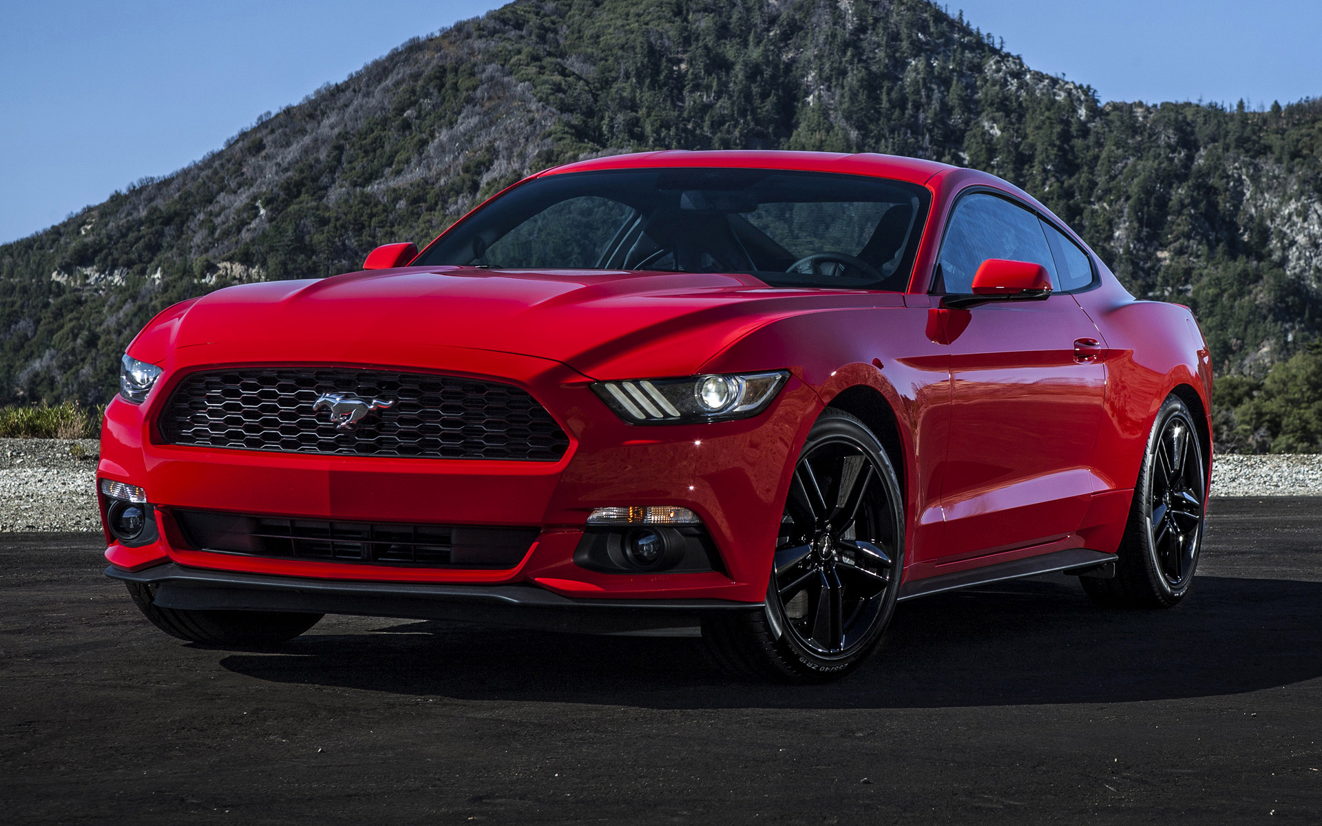 91 Mustang Gt >> 2015 Ford Mustang EcoBoost - Wallpapers and HD Images ...