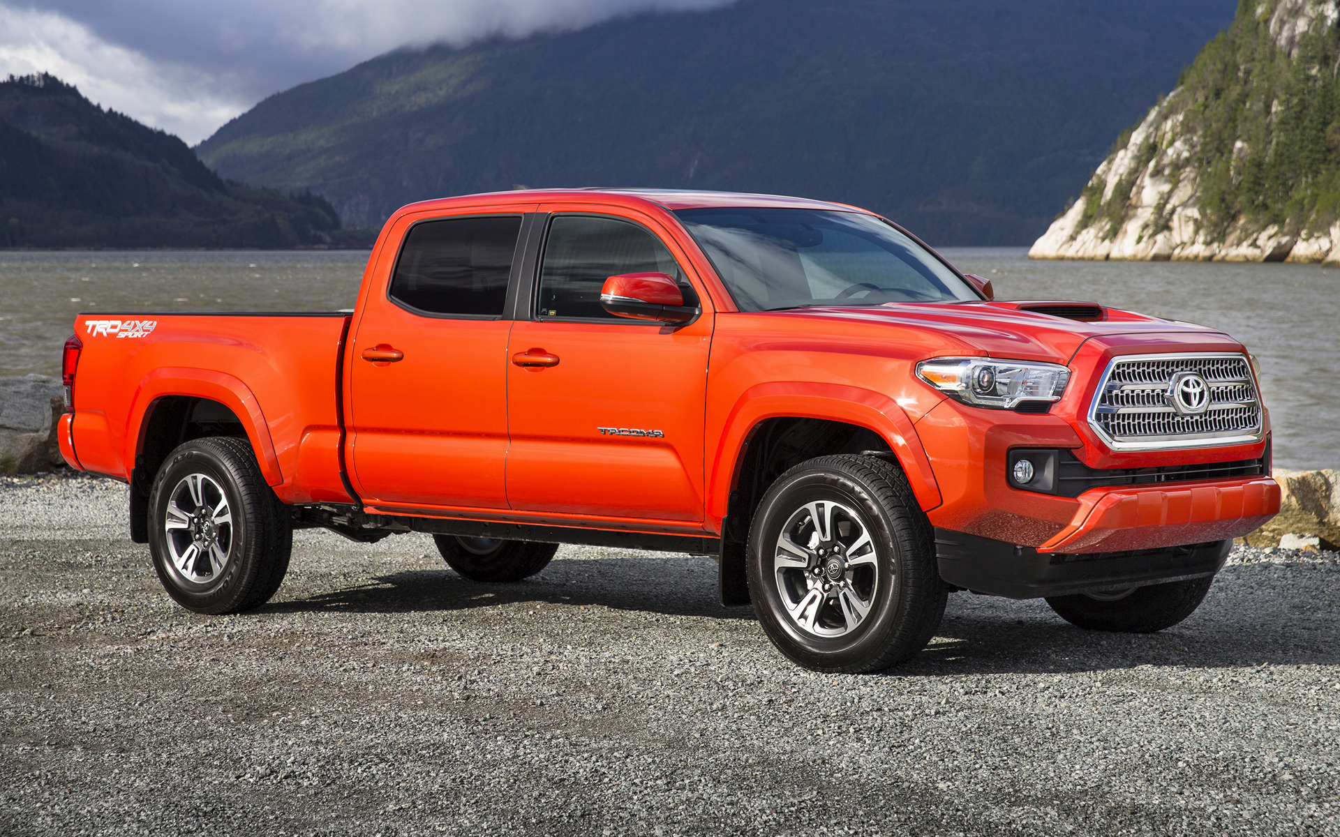 Toyota Tacoma Trd Sport Double Cab 2016 Wallpapers And