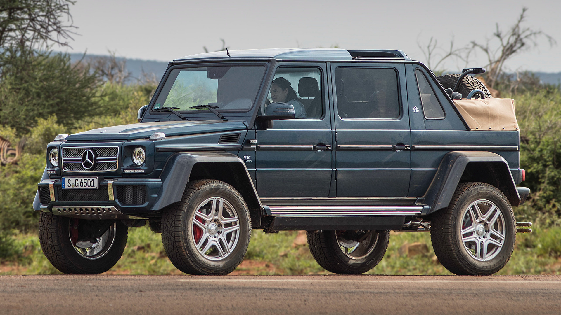 2017 Mercedes Maybach G Class Landaulet Wallpapers And